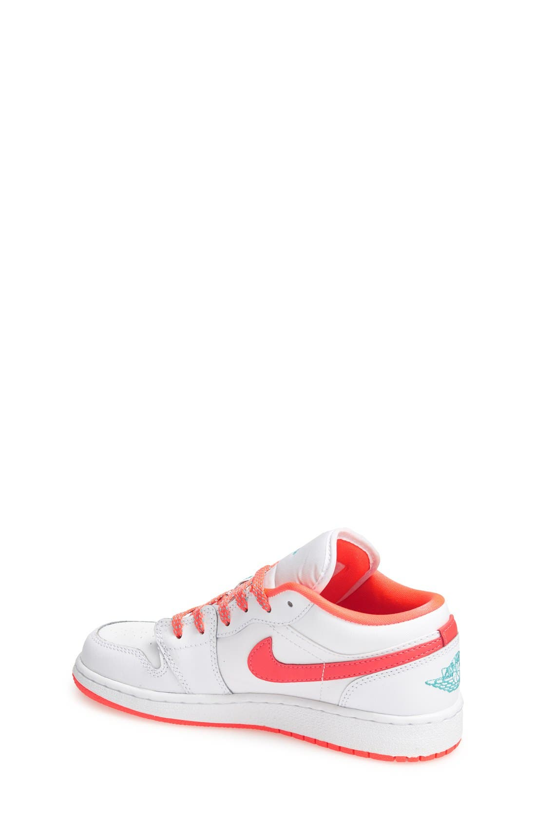 Nike 'Jordan 1 Low' Basketball Shoe,                             Alternate thumbnail 6, color,