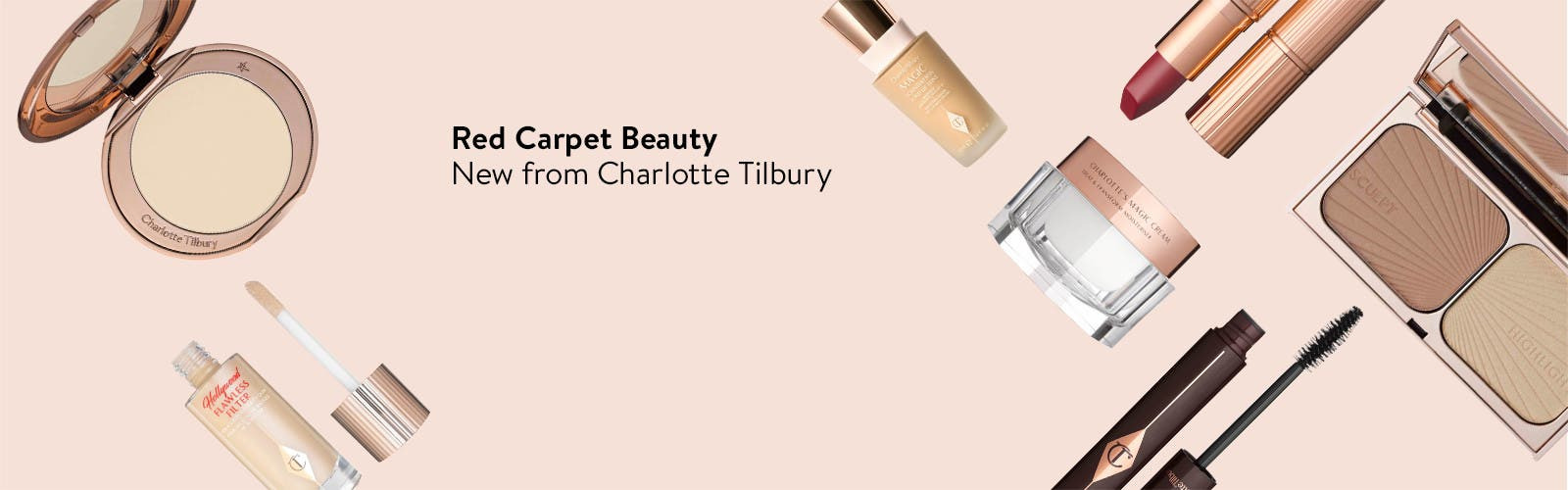 New Red Carpet Beauty from Charlotte Tilbury.