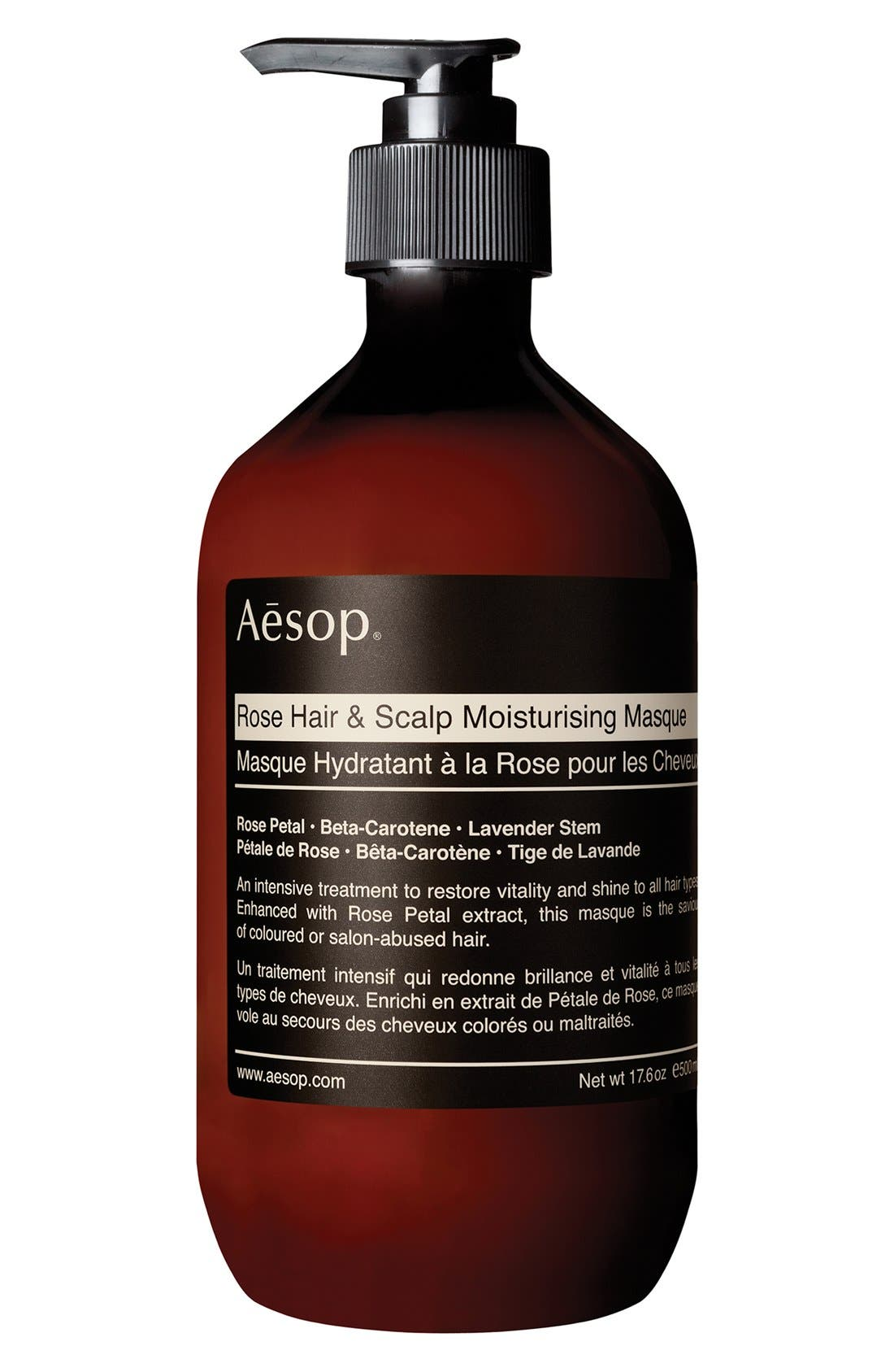Rose Hair & Scalp Moisturising Masque,                             Alternate thumbnail 2, color,                             960