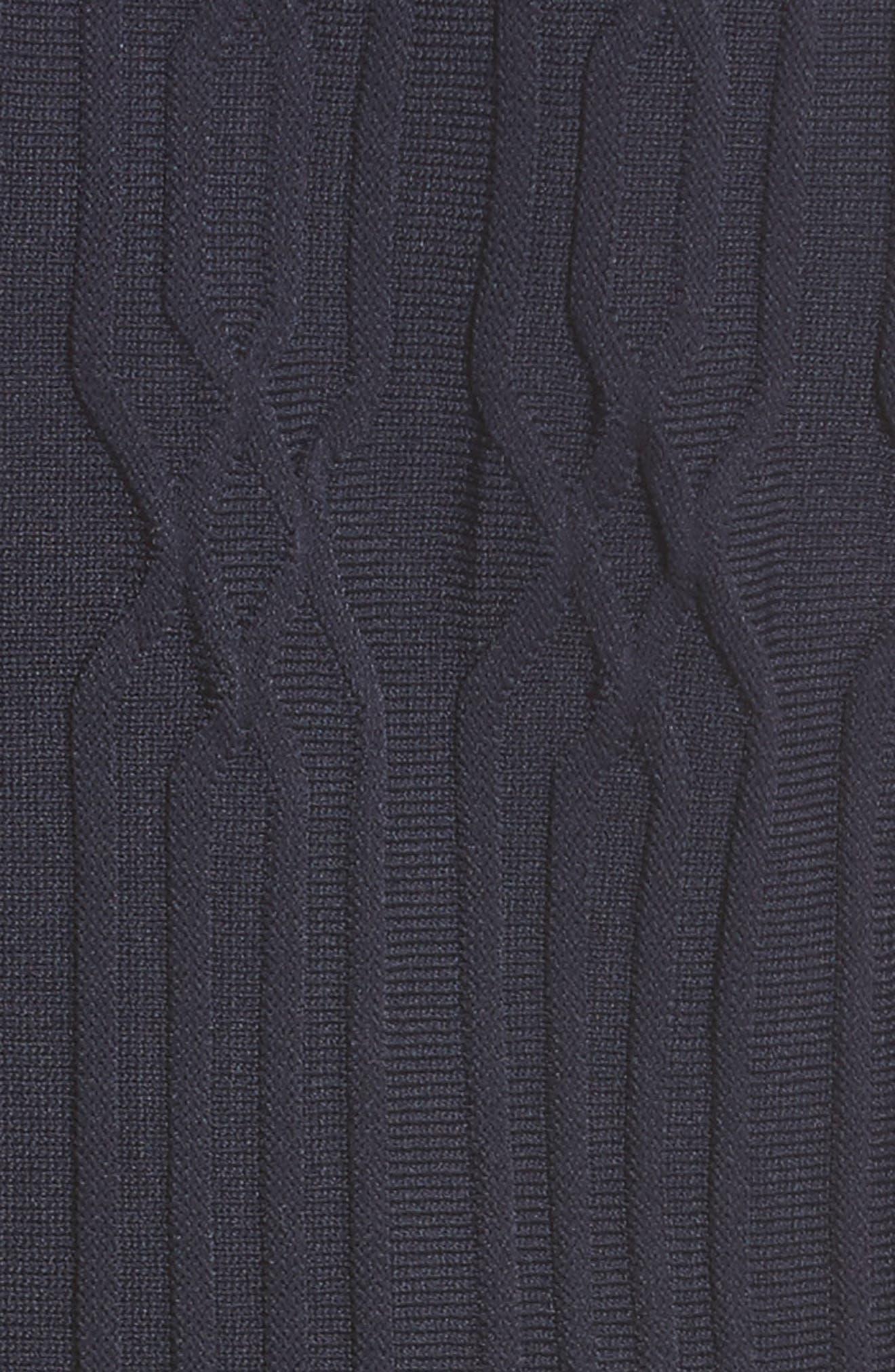 Lace Yoke Dress,                             Alternate thumbnail 6, color,                             400
