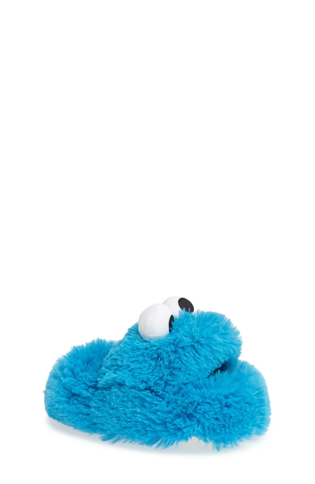 STRIDE RITE,                             'Cookie Monster<sup>™</sup>' Slipper,                             Main thumbnail 1, color,                             400
