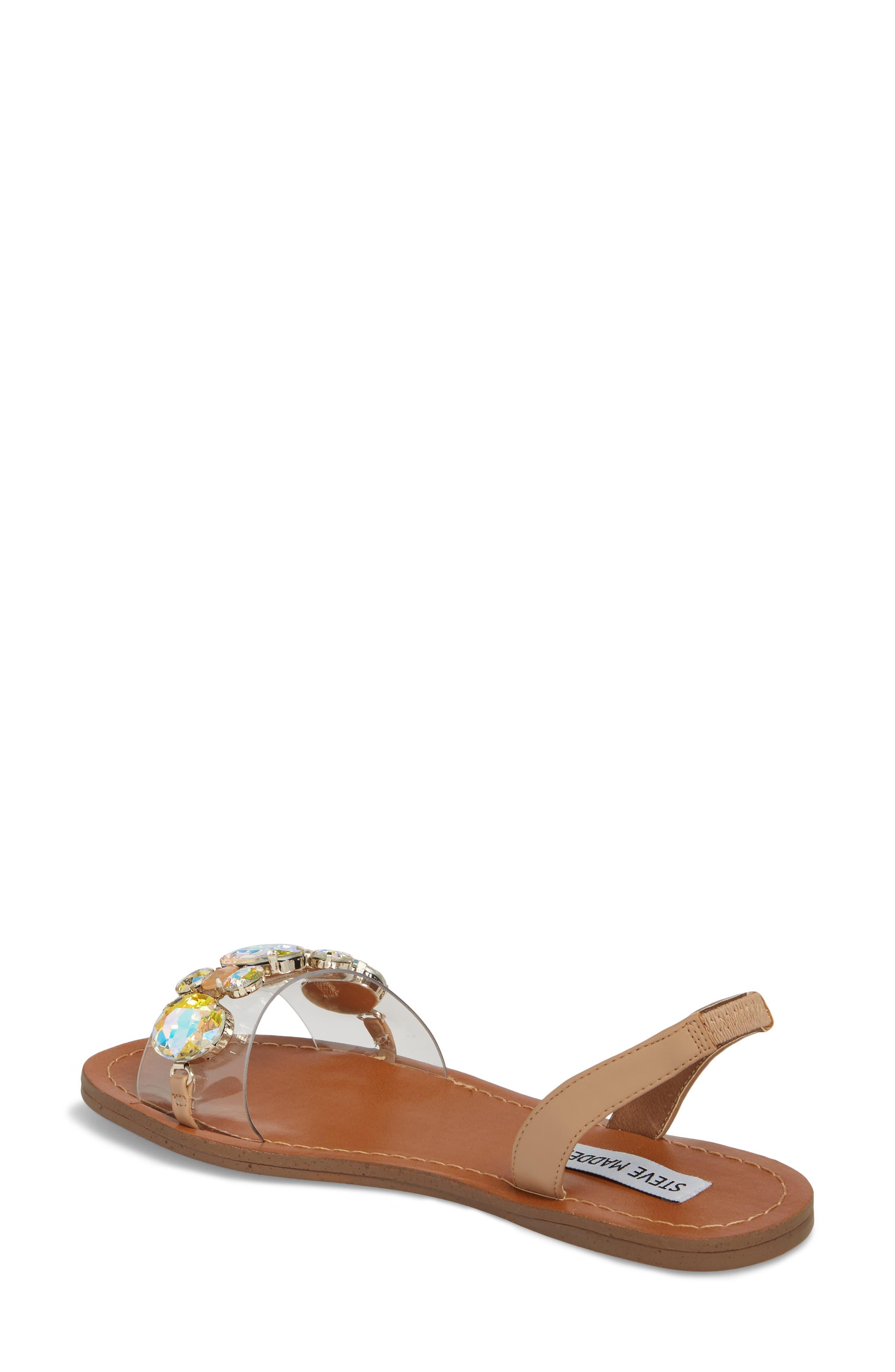 Alice Crystal Embellished Sandal,                             Alternate thumbnail 2, color,