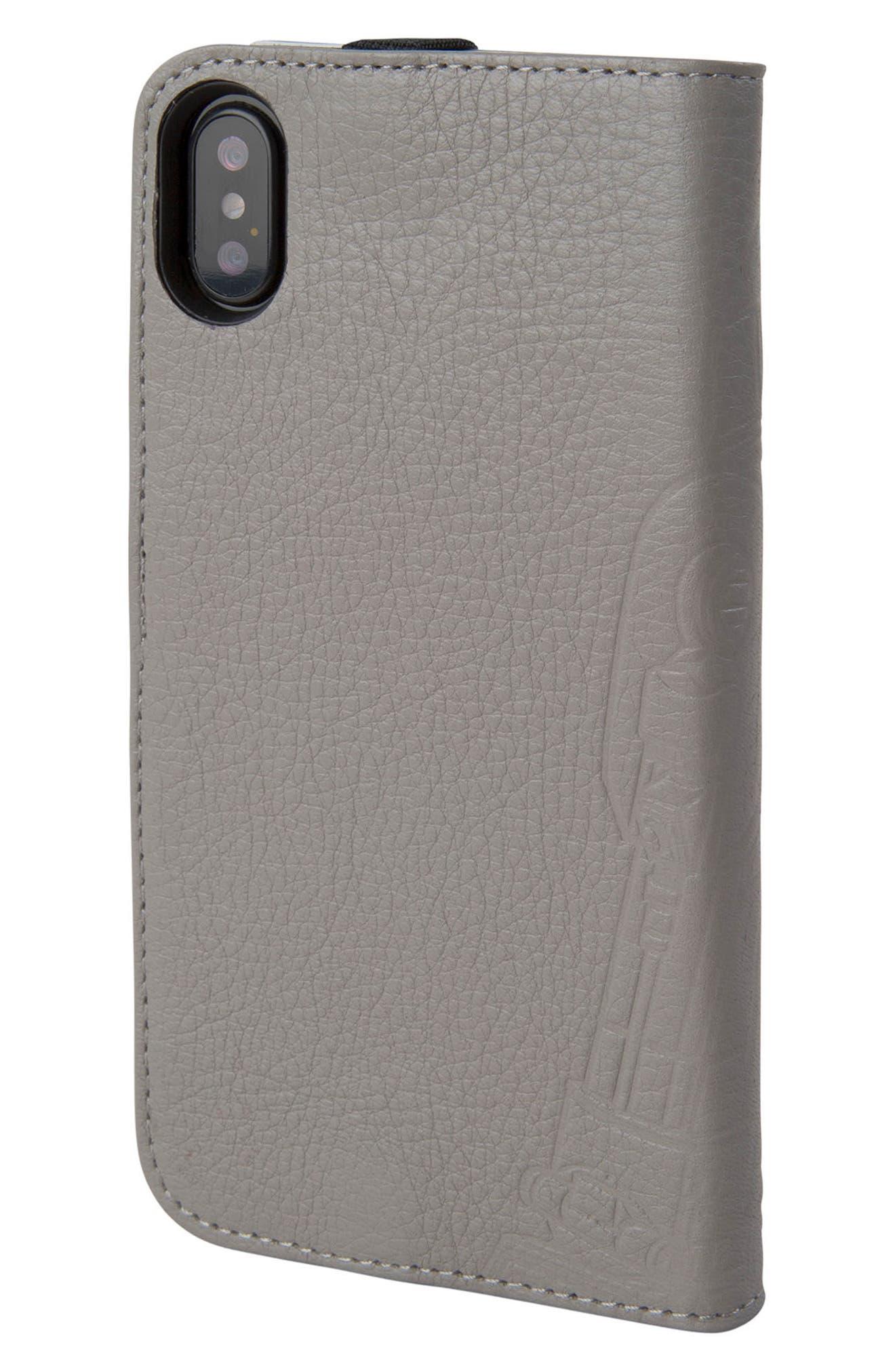 R2-D2 iPhone X Wallet Case,                             Alternate thumbnail 3, color,                             036