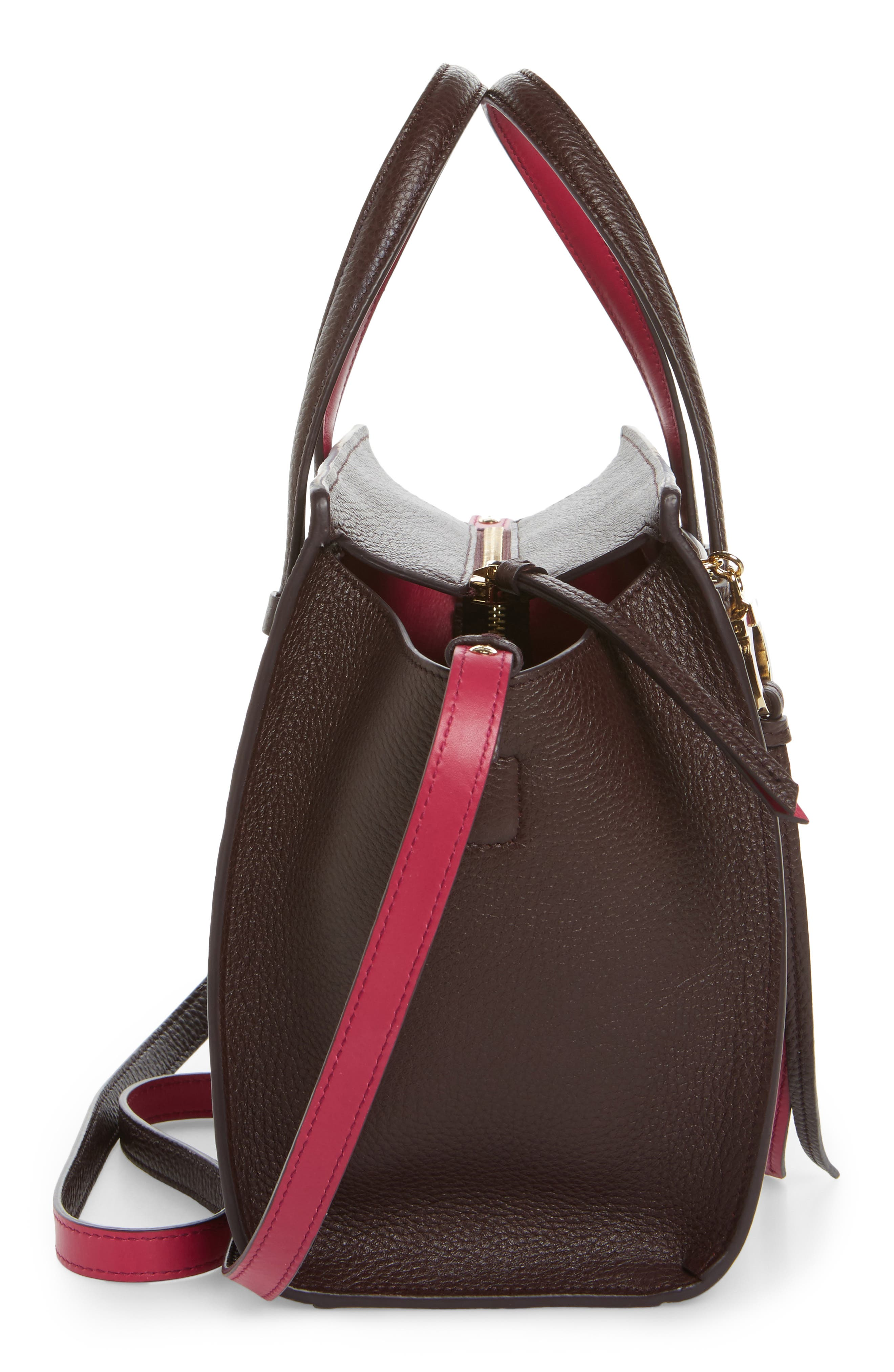 Small Calfskin Tote,                             Alternate thumbnail 5, color,                             570