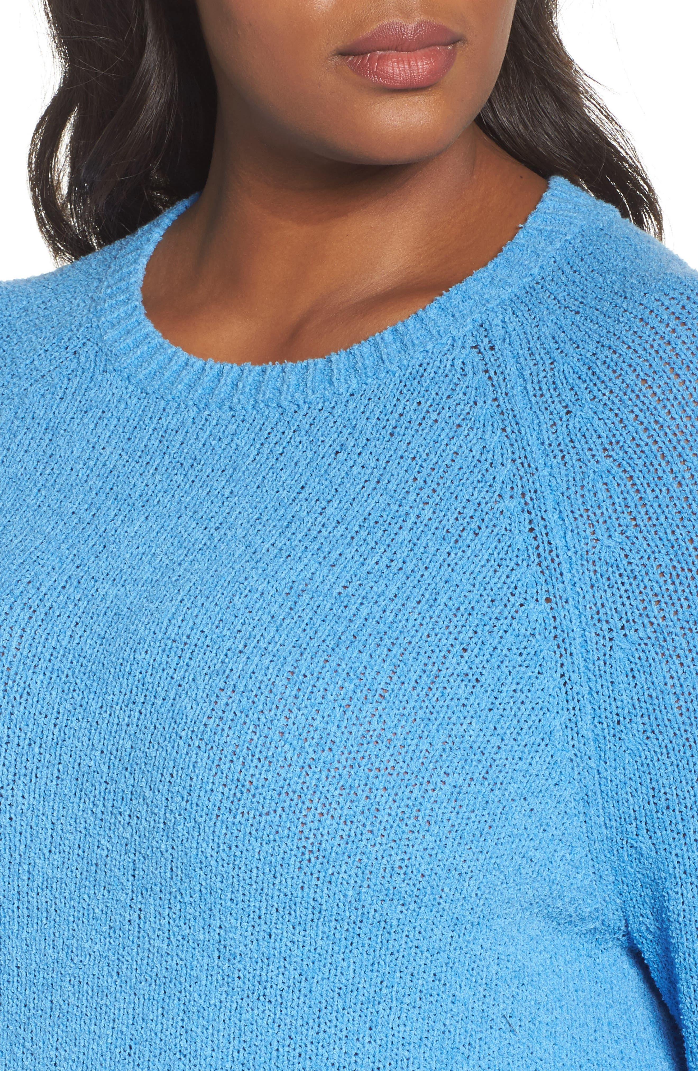 Relaxed Crewneck Sweater,                             Alternate thumbnail 15, color,