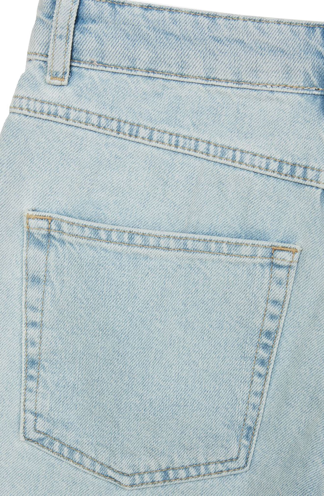 Bleach Denim Board Shorts,                             Alternate thumbnail 9, color,                             420