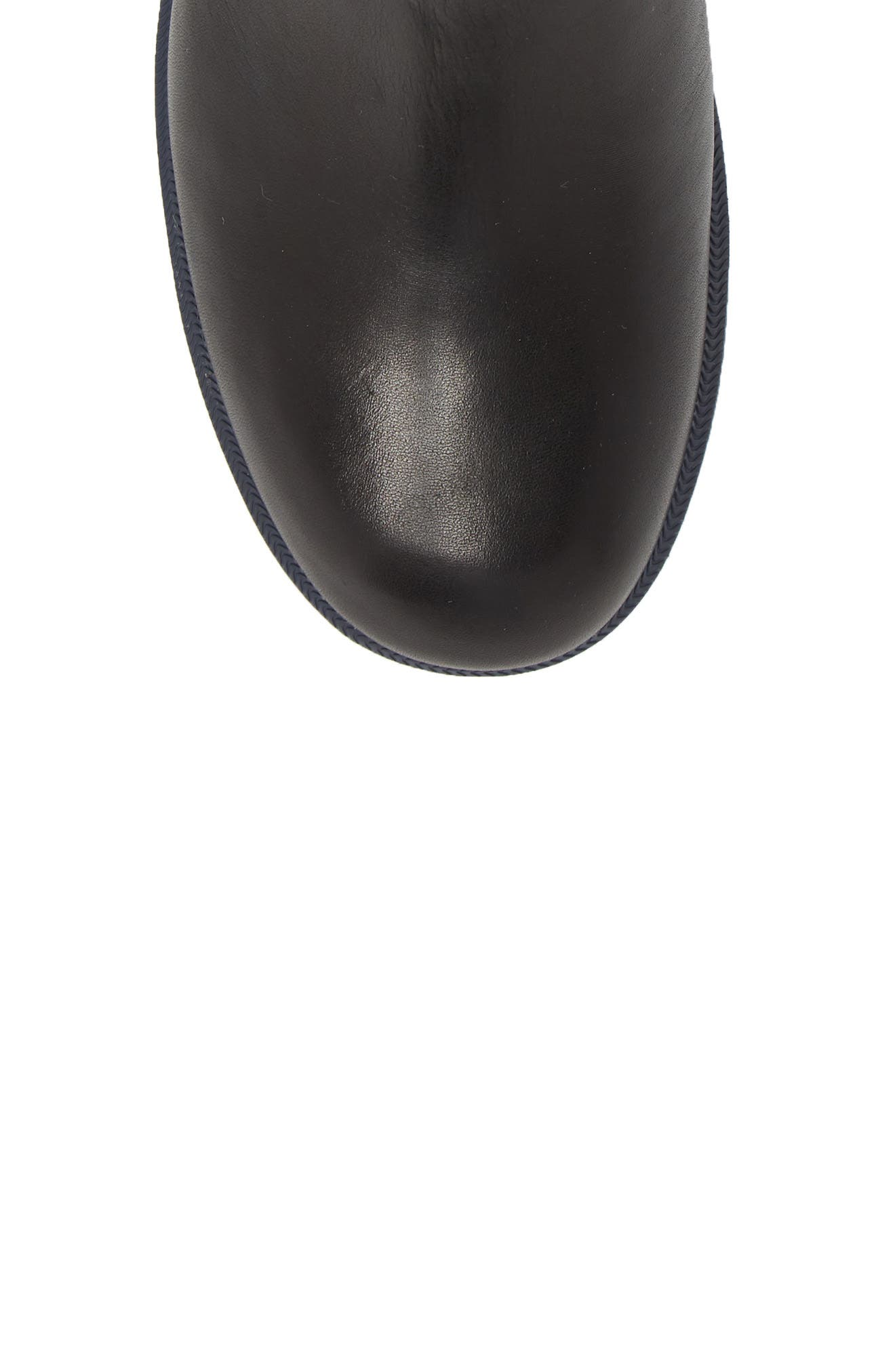 Whitnee Bootie,                             Alternate thumbnail 5, color,                             BLACK LEATHER/ NAVY