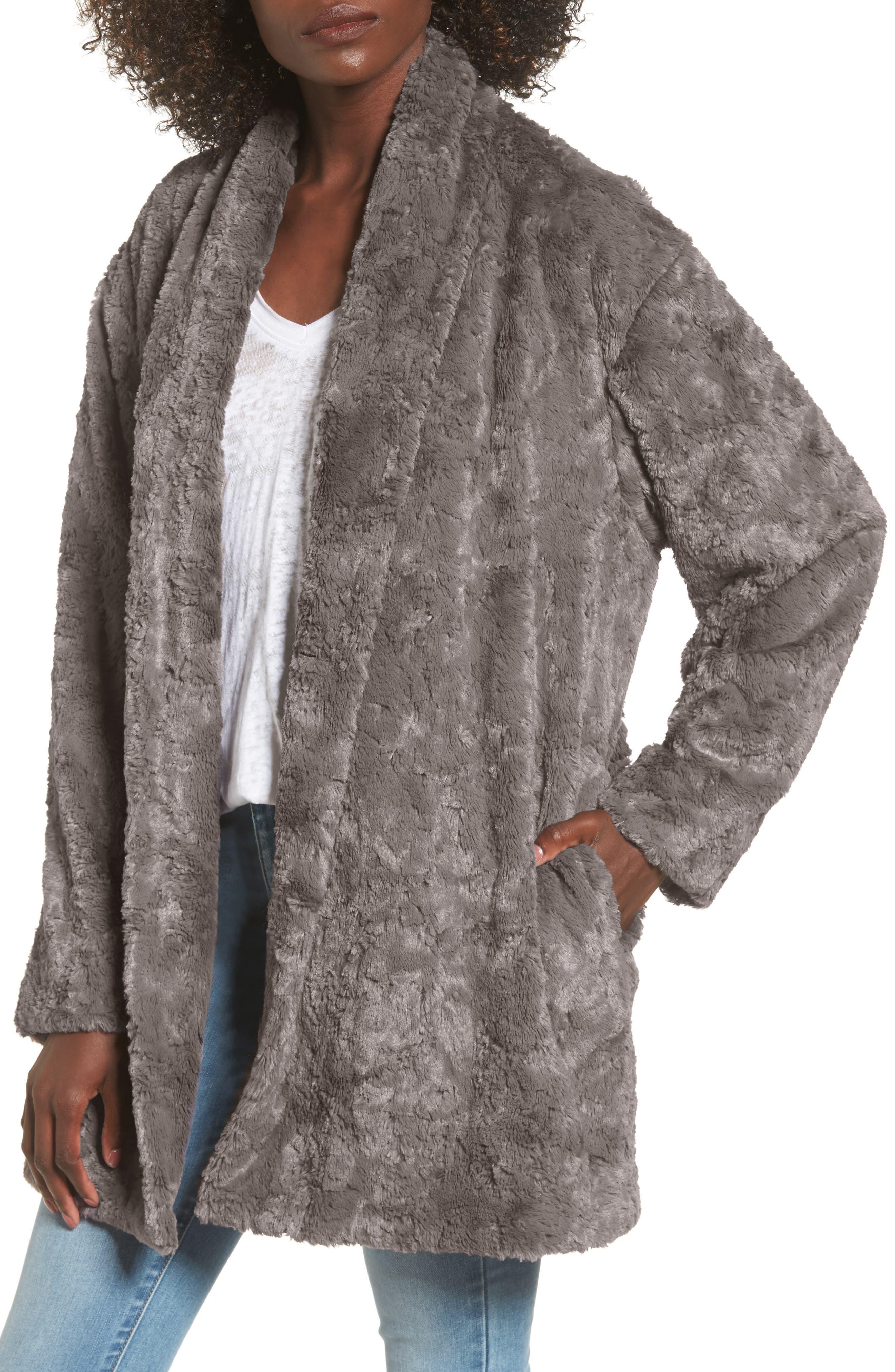 Skylar Faux Fur Jacket,                         Main,                         color, 021