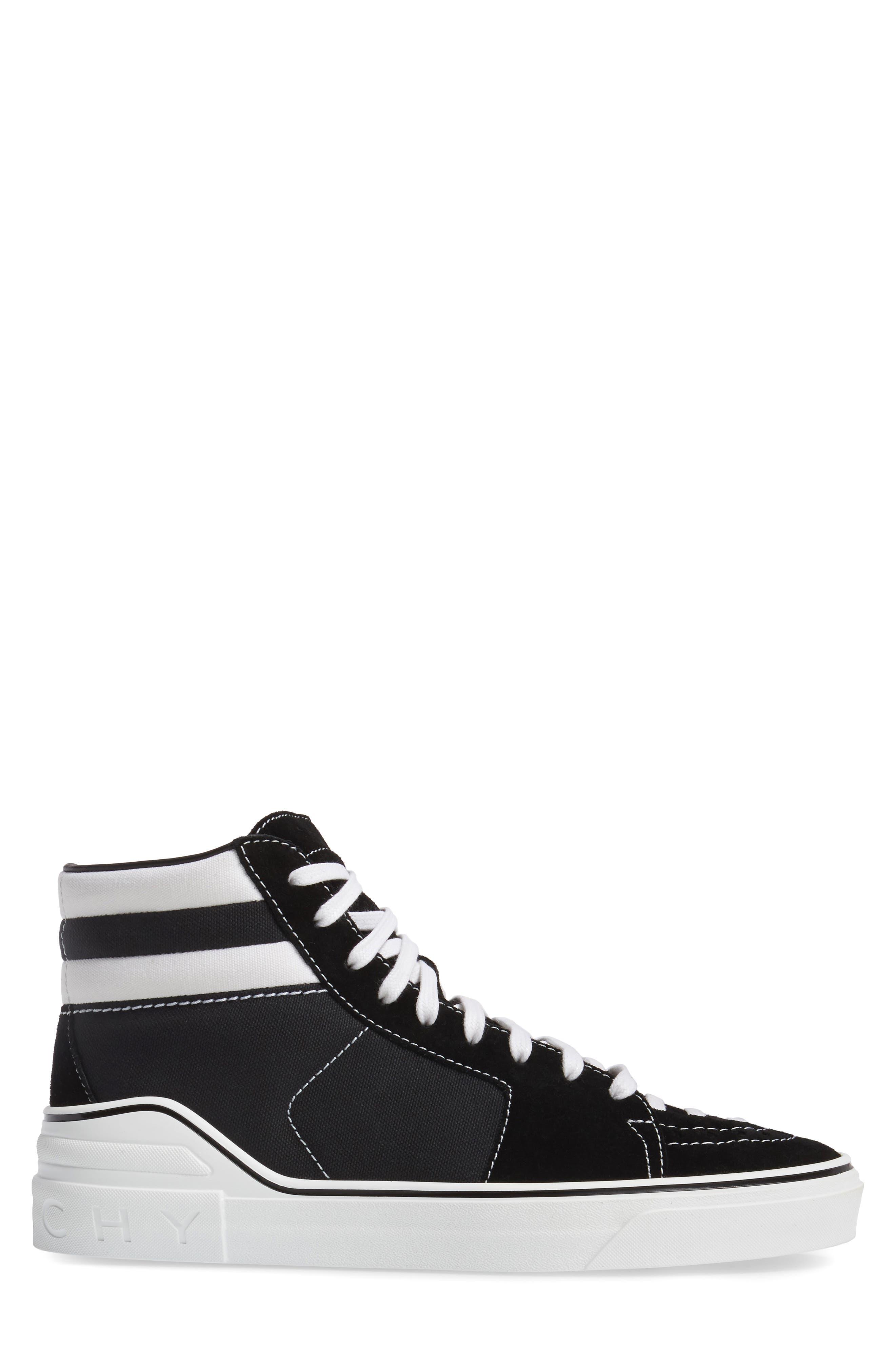 High Top Sneaker,                             Alternate thumbnail 3, color,                             004