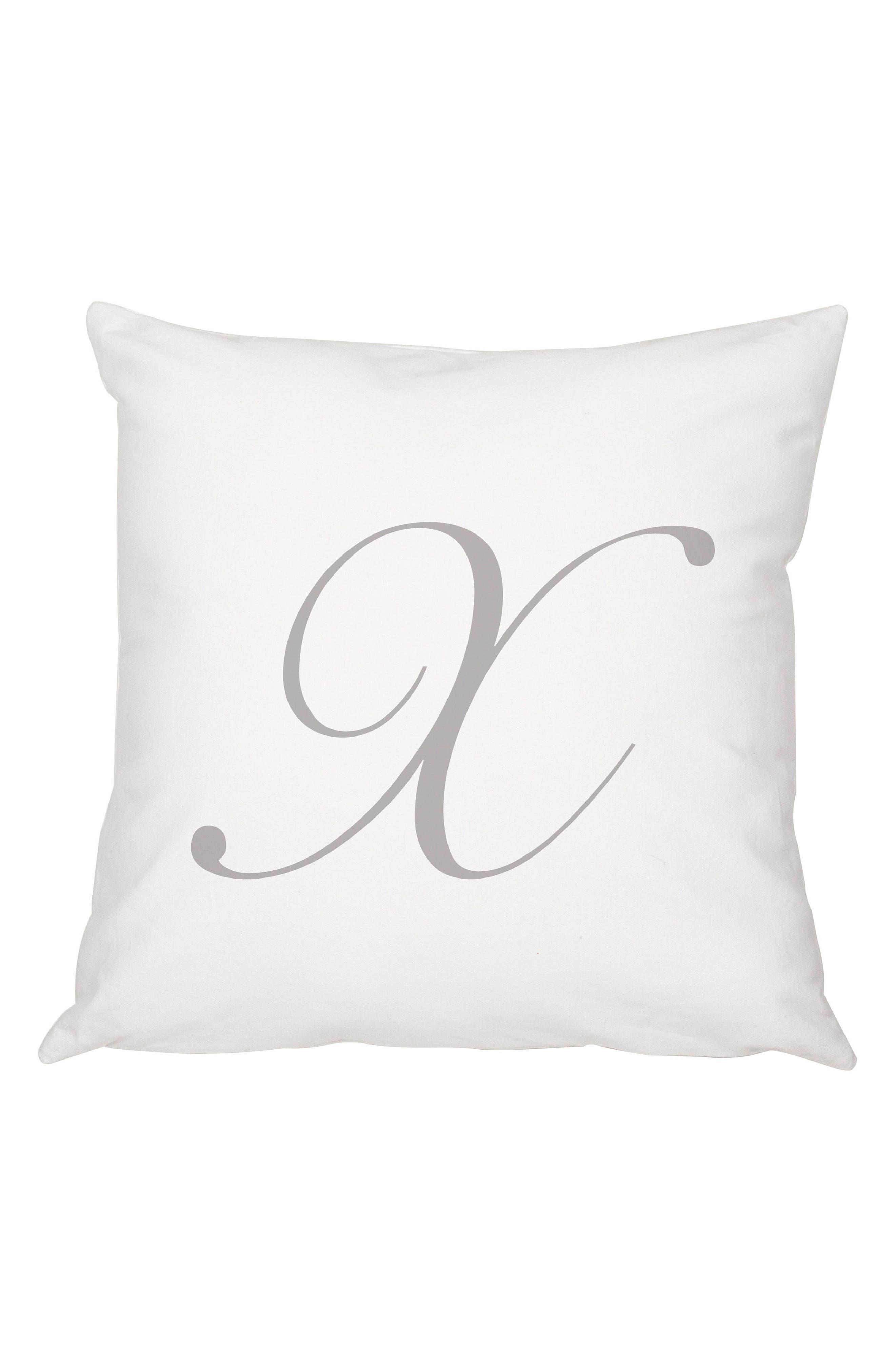 Script Monogram Accent Pillow,                             Main thumbnail 24, color,