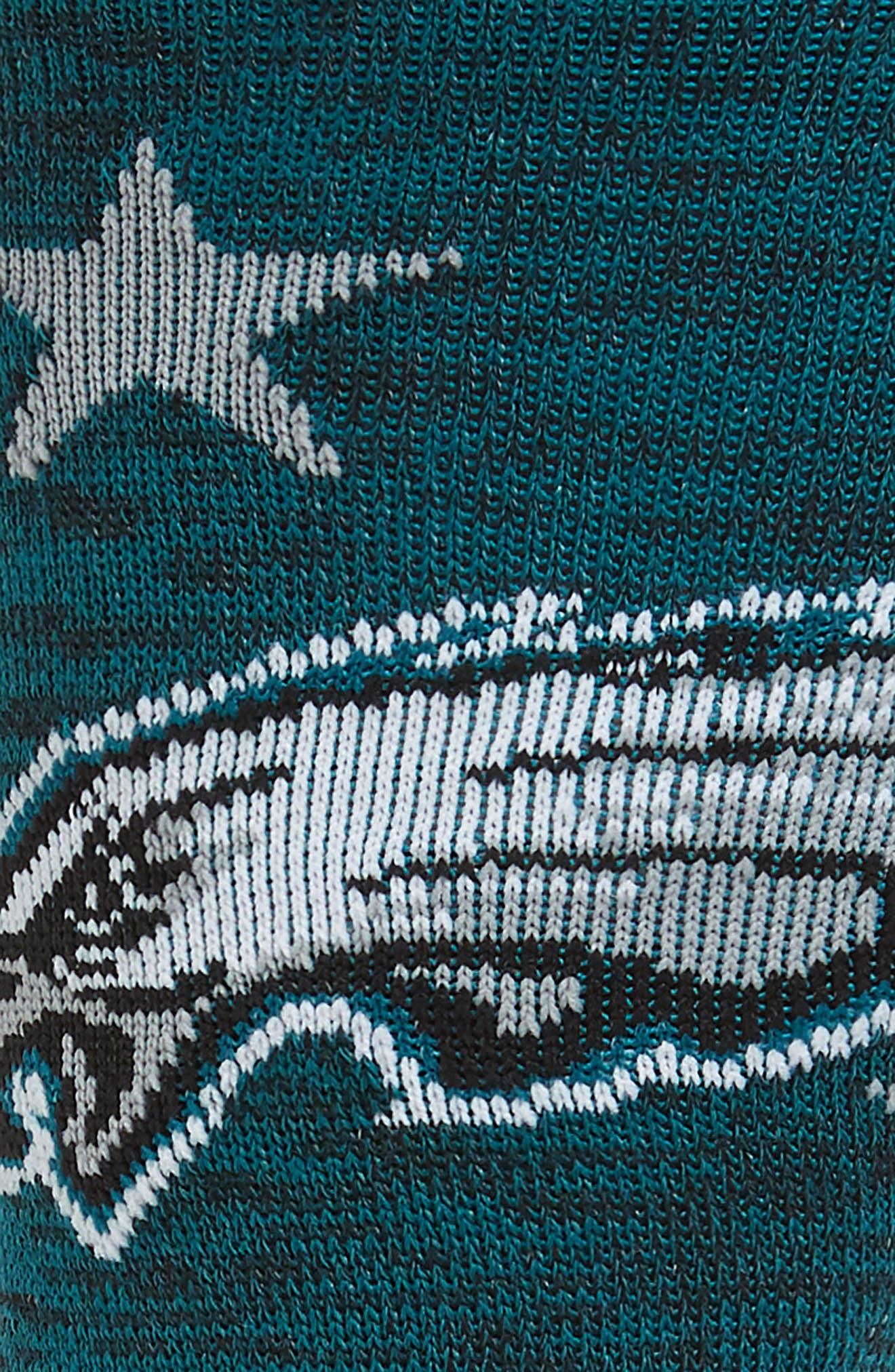 Philadelphia Eagles Banner Socks,                             Alternate thumbnail 2, color,                             020