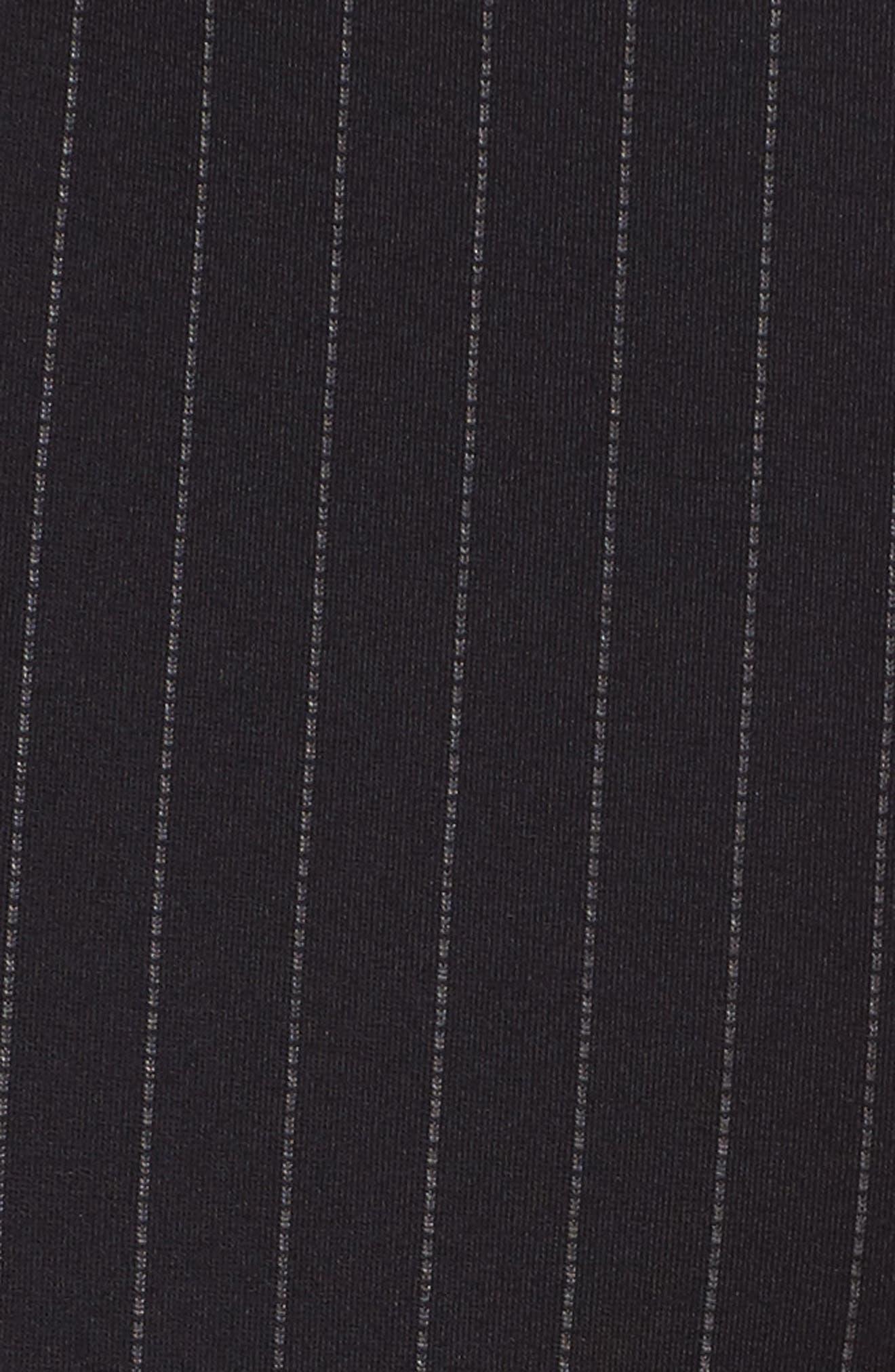 Pinstripe Leggings,                             Alternate thumbnail 5, color,                             431