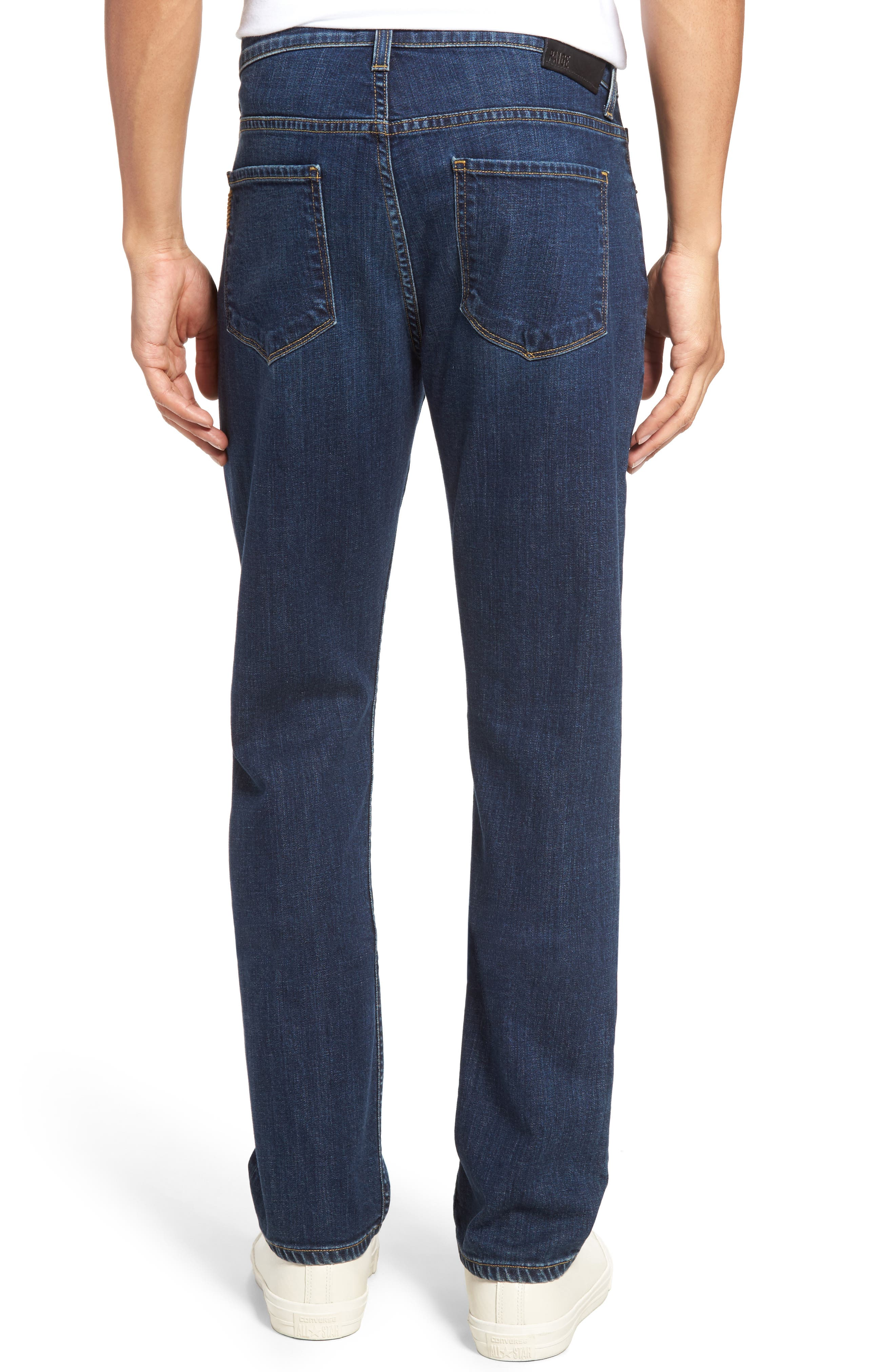 Normandie Straight Leg Jeans,                             Alternate thumbnail 2, color,                             ANGELO
