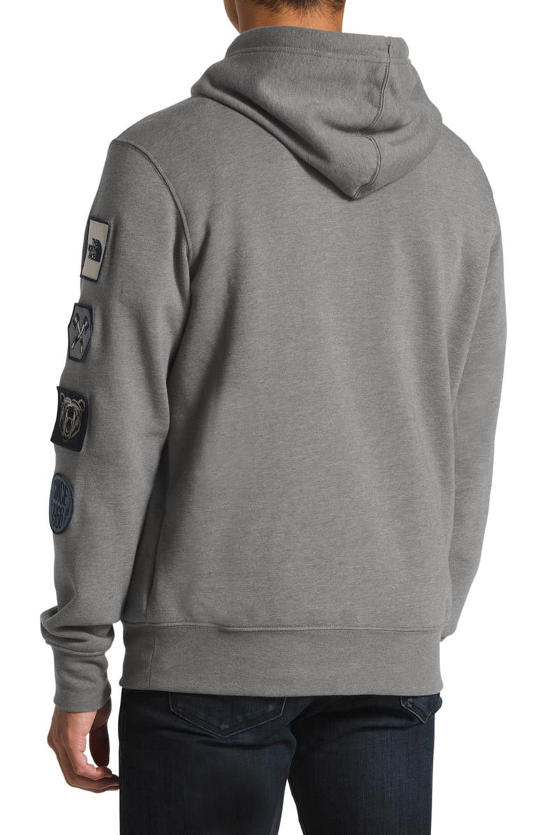 north face urban patch hoodie
