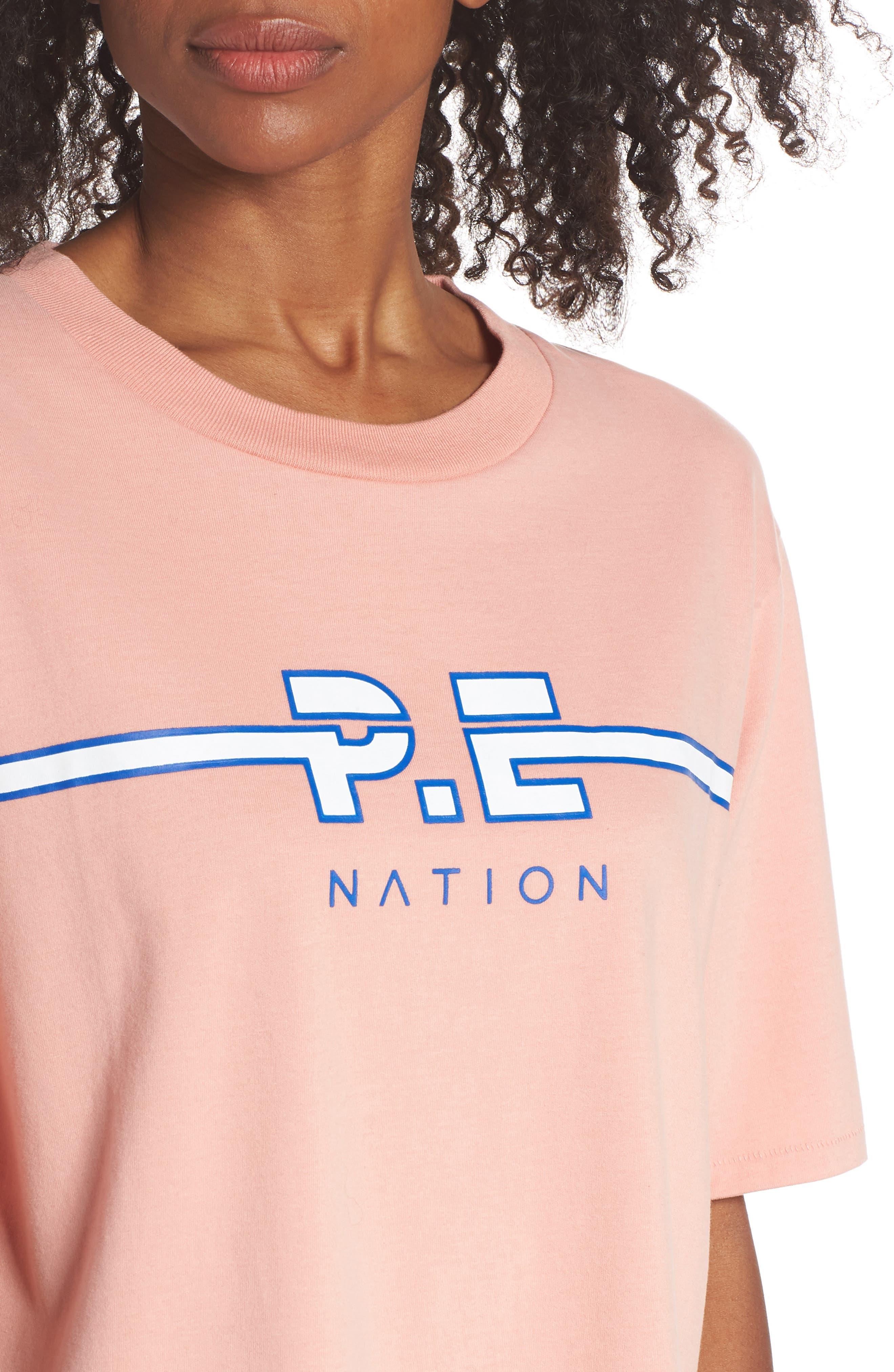 Active Duty Tee,                             Alternate thumbnail 4, color,                             PASTEL PINK
