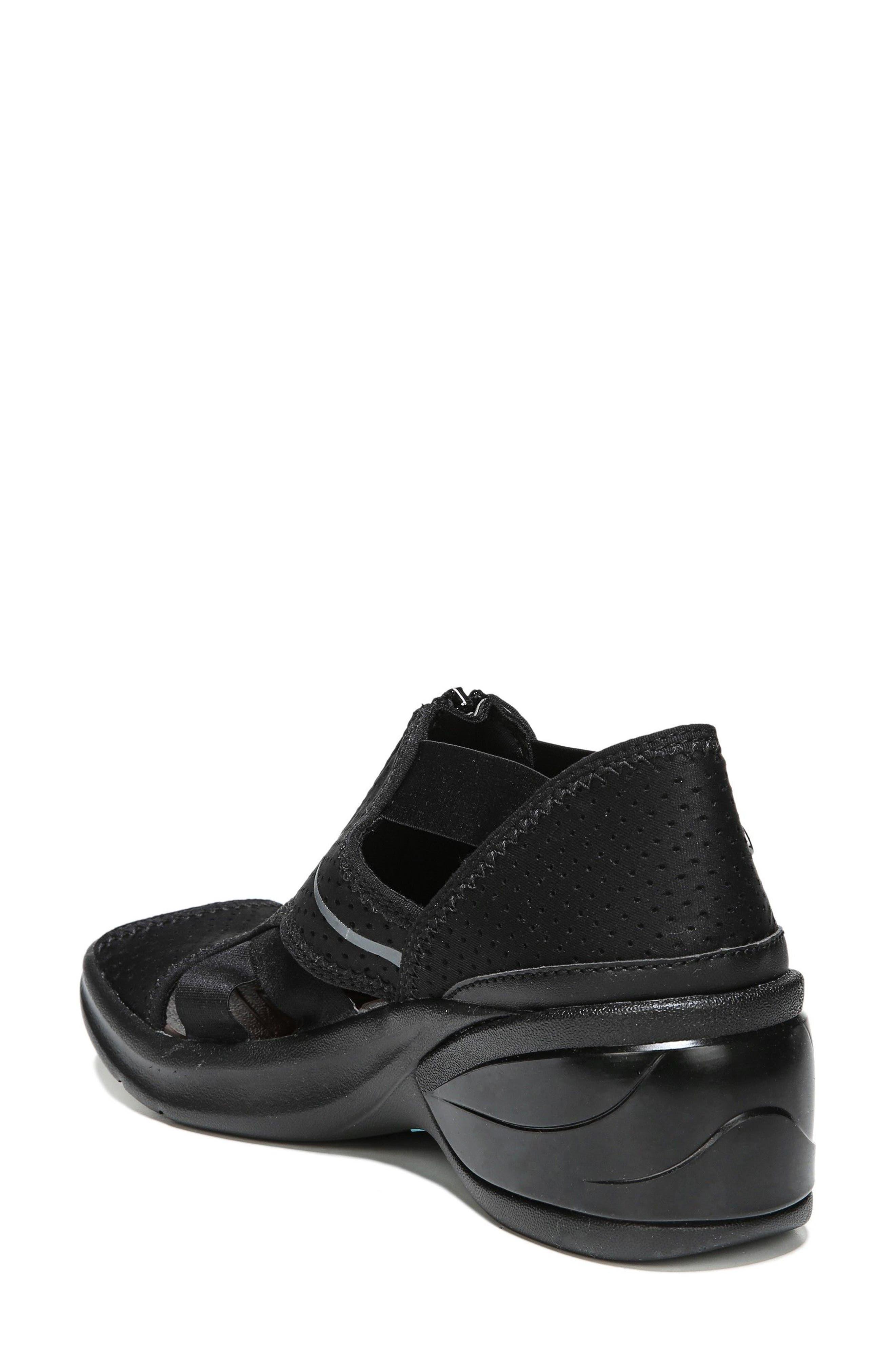 Krave Sandal,                             Alternate thumbnail 2, color,                             BLACK FABRIC
