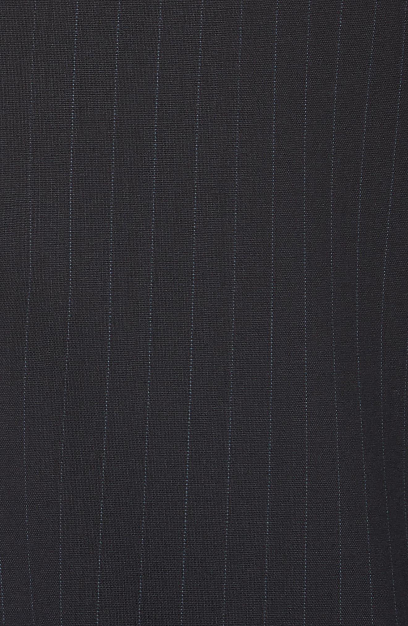 MAX MARA,                             Laser Single Button Wool Jacket,                             Alternate thumbnail 7, color,                             ULTRAMARINE