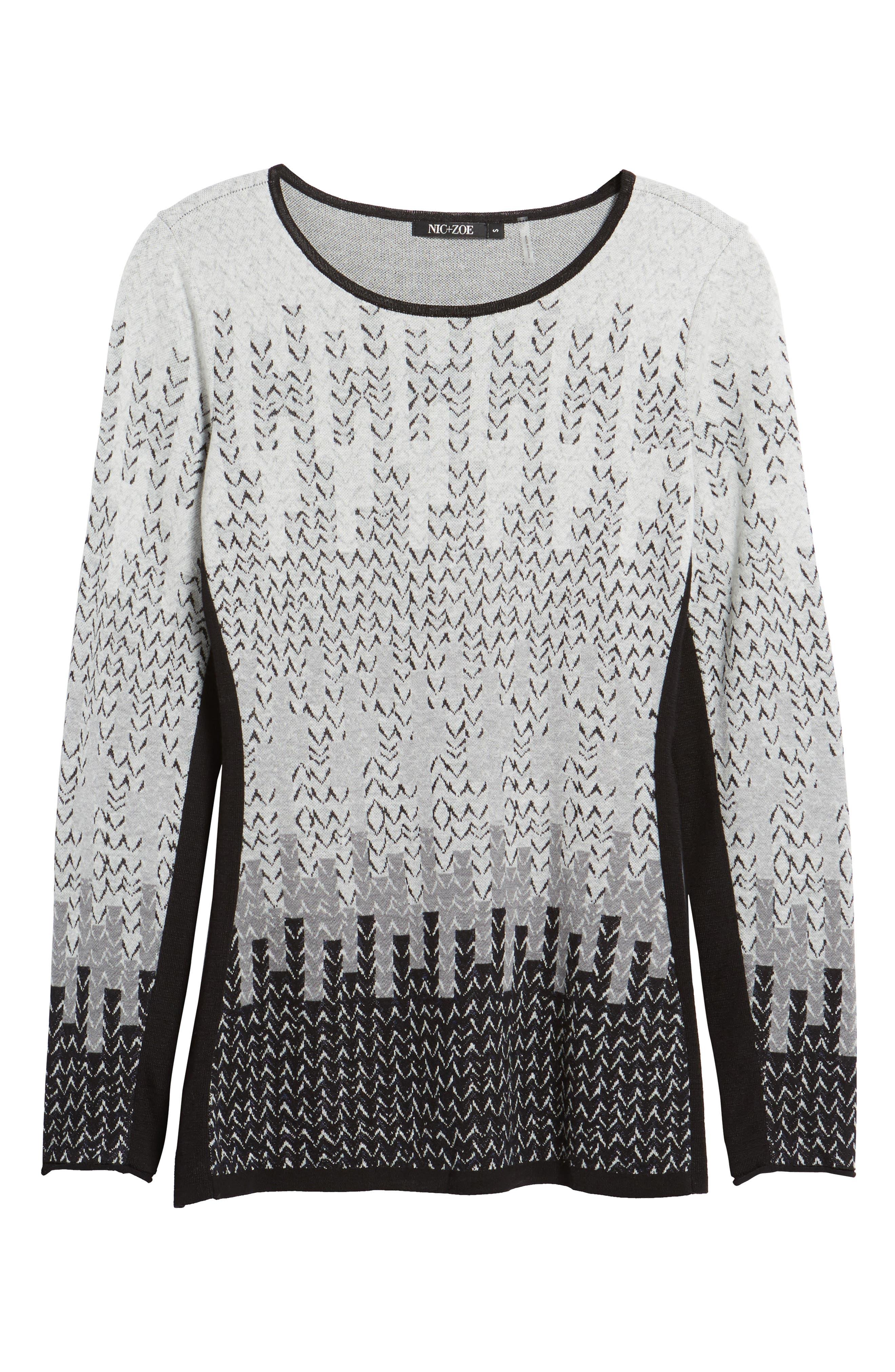 Sunset Sweater,                             Alternate thumbnail 6, color,                             027