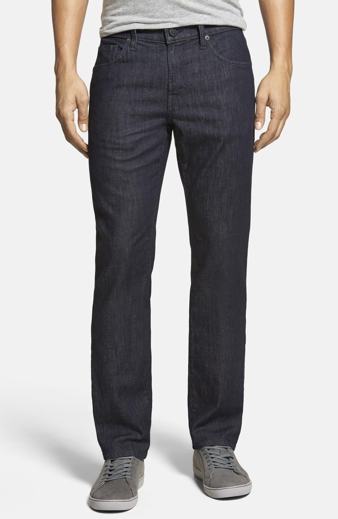 Kane Slim Straight Leg Jeans,                             Main thumbnail 1, color,                             HIRSCH