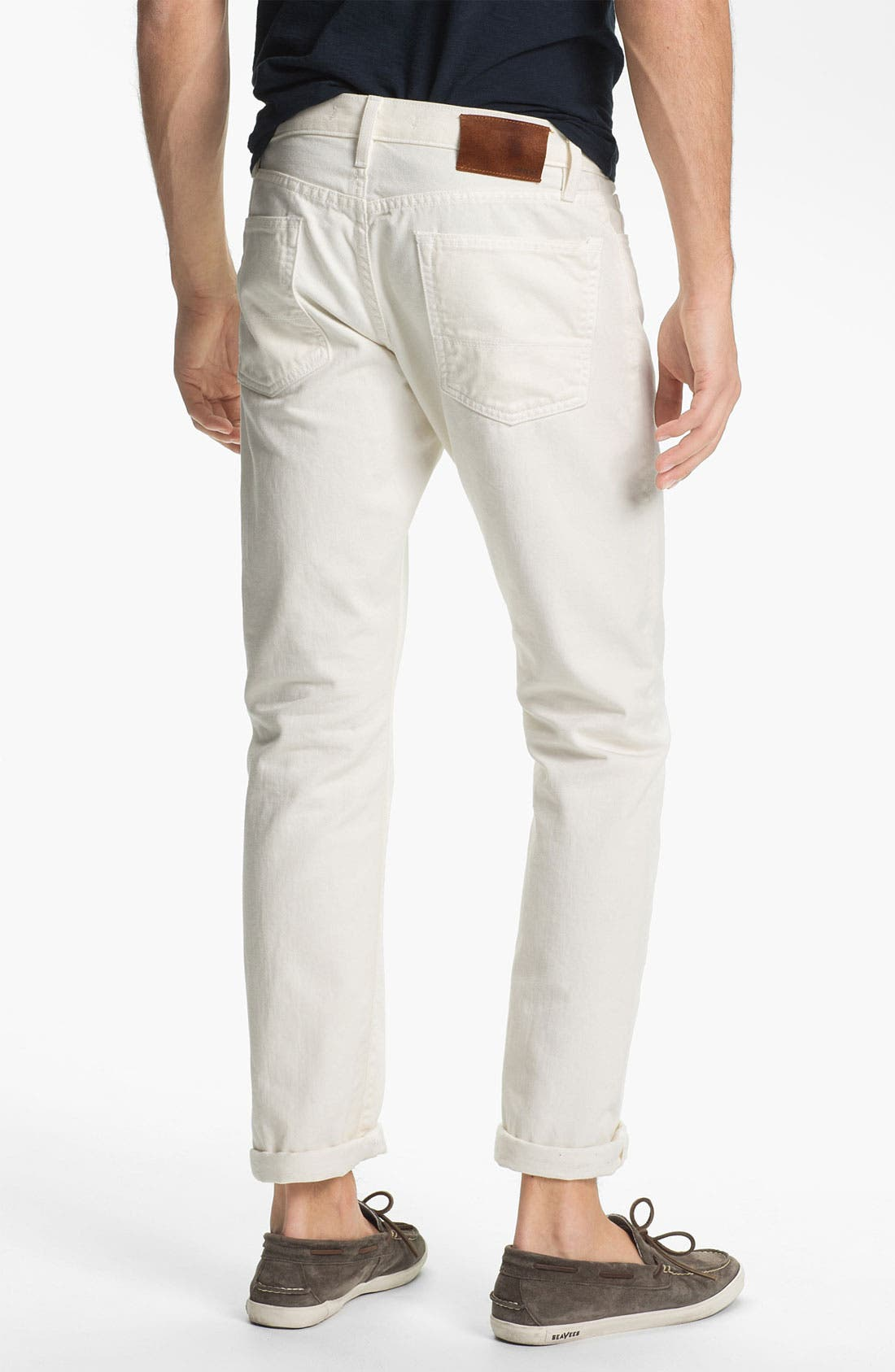 Straight Leg Five Pocket Pants,                             Alternate thumbnail 2, color,                             115