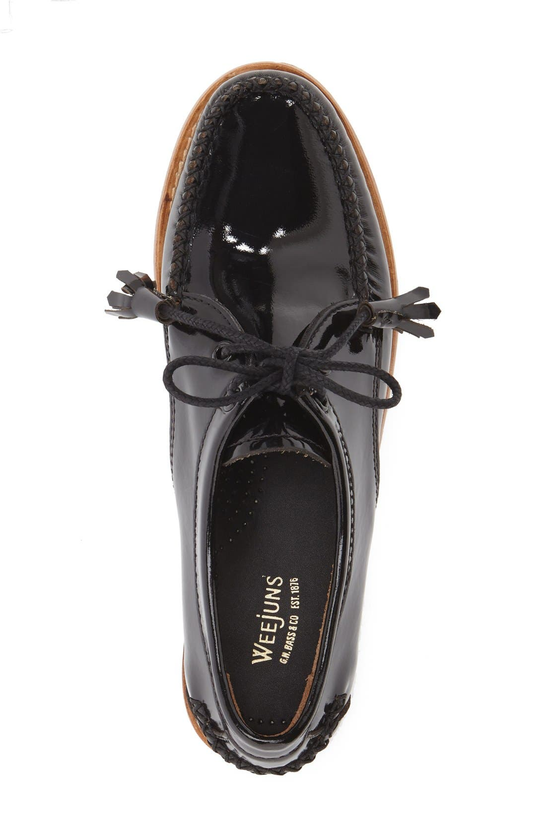 'Winnie' Leather Oxford,                             Alternate thumbnail 25, color,