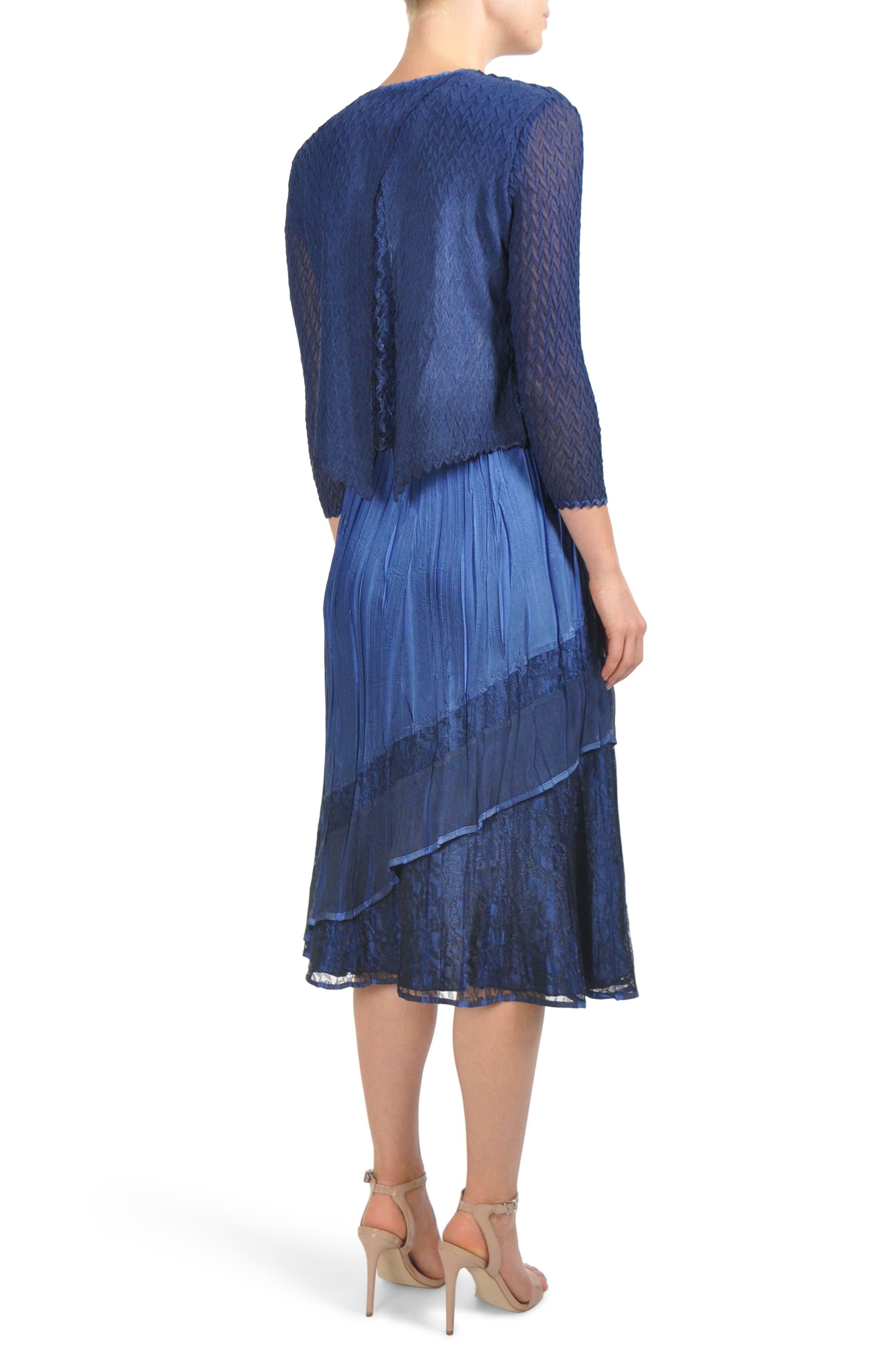 Komorov Midi Dress with Jacket,                             Alternate thumbnail 2, color,                             484