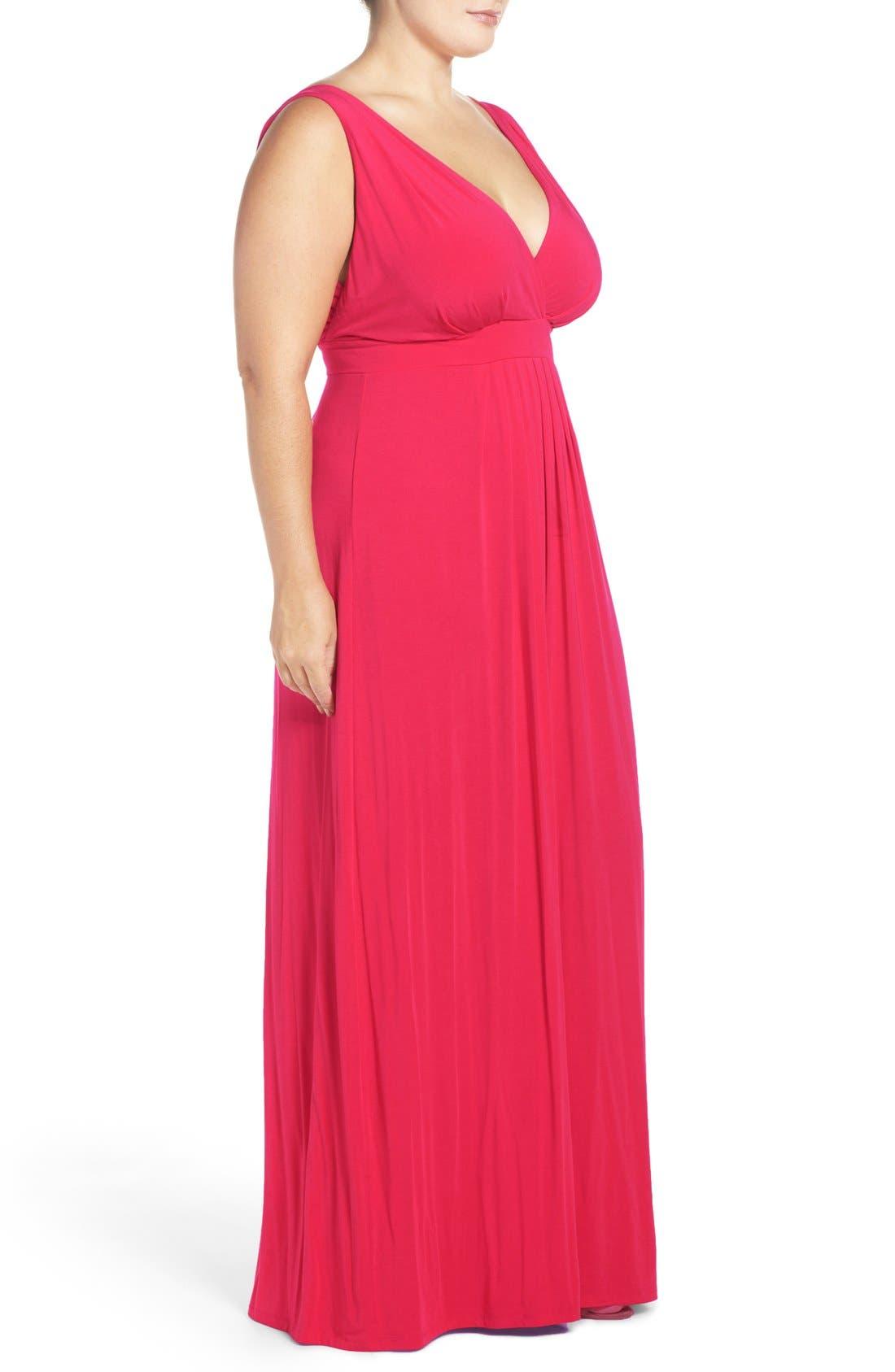 Chloe Empire Waist Maxi Dress,                             Alternate thumbnail 56, color,