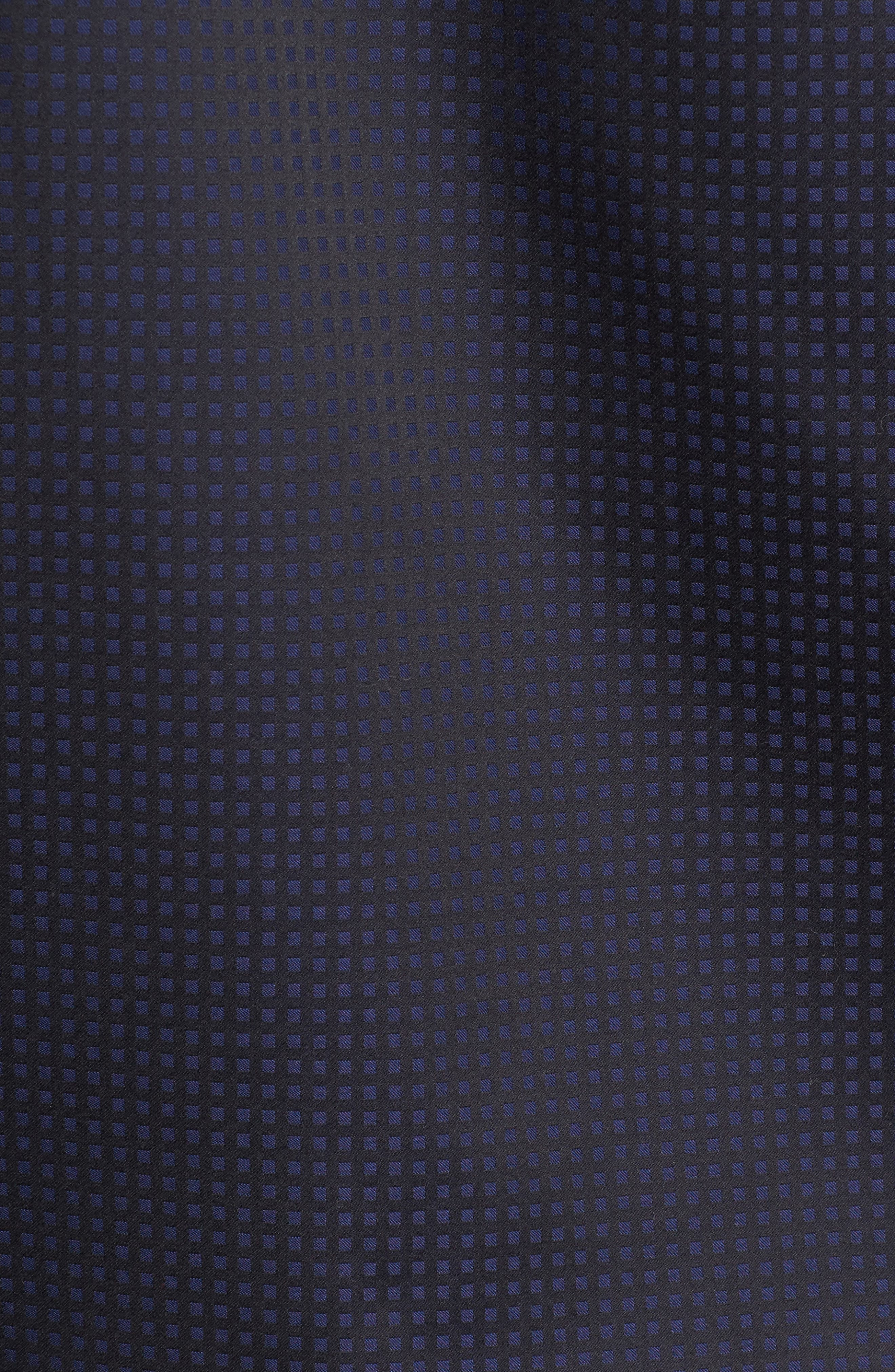 Shaped Fit Check Sport Shirt,                             Alternate thumbnail 5, color,                             410