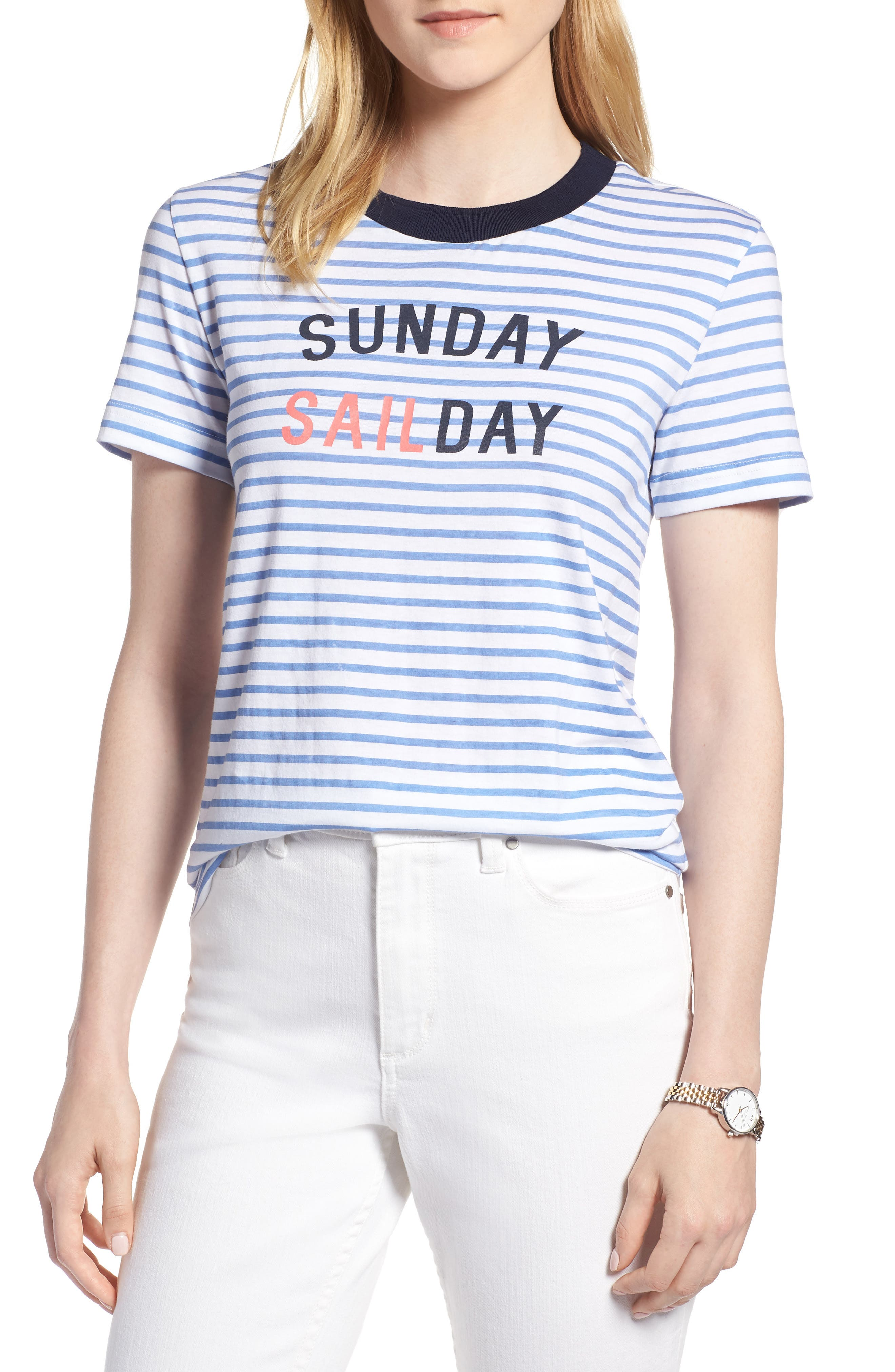 Nautical Graphic Tee,                         Main,                         color, 100