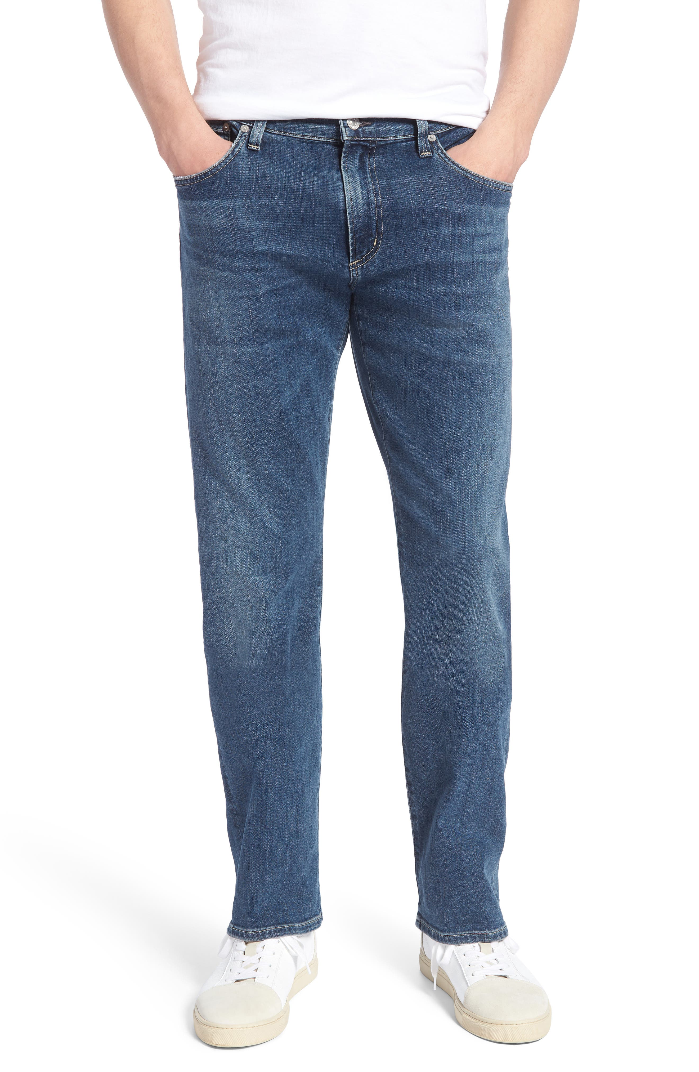 Gage Slim Straight Fit Jeans,                             Main thumbnail 1, color,                             427