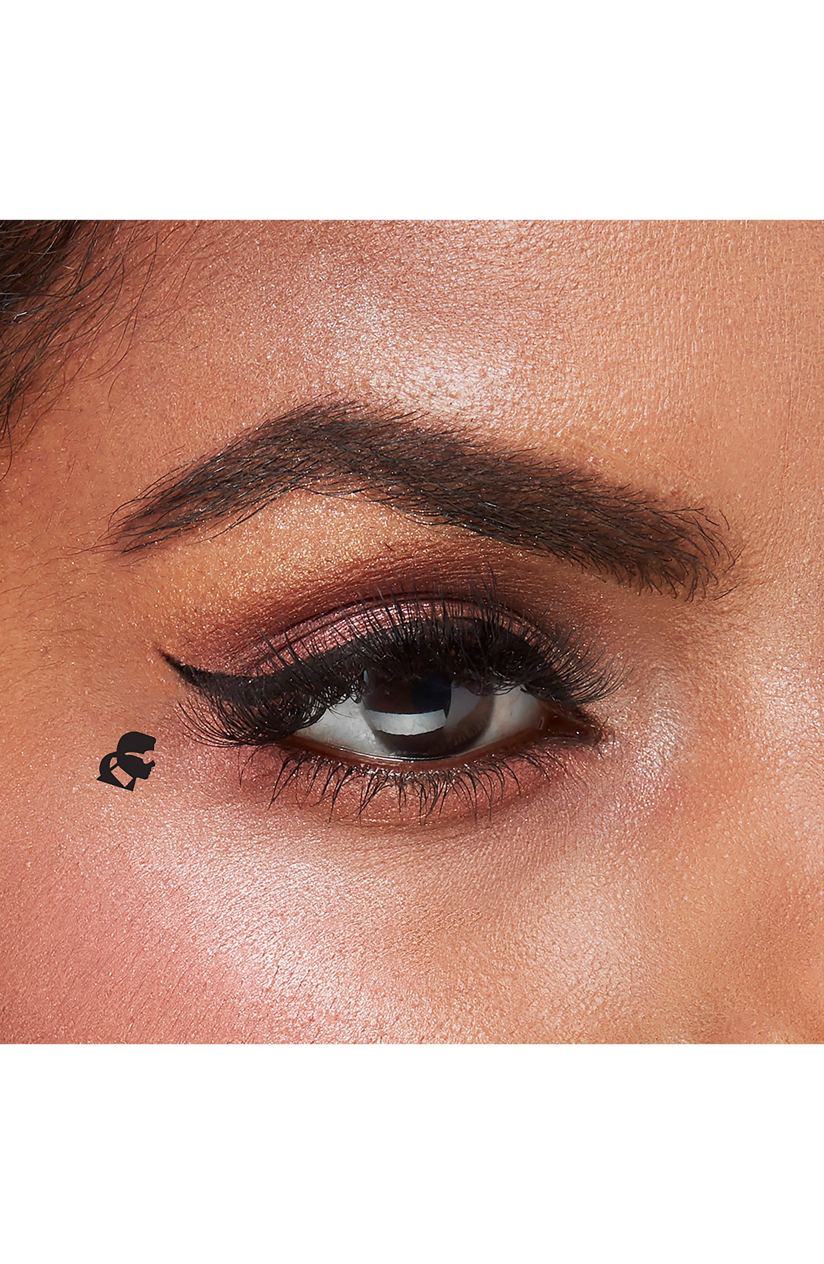 KARL LAGERFELD + MODELCO Kiss Me Karl Liquid Liner and Beauty Stamp,                             Alternate thumbnail 5, color,                             CHOUPETTE