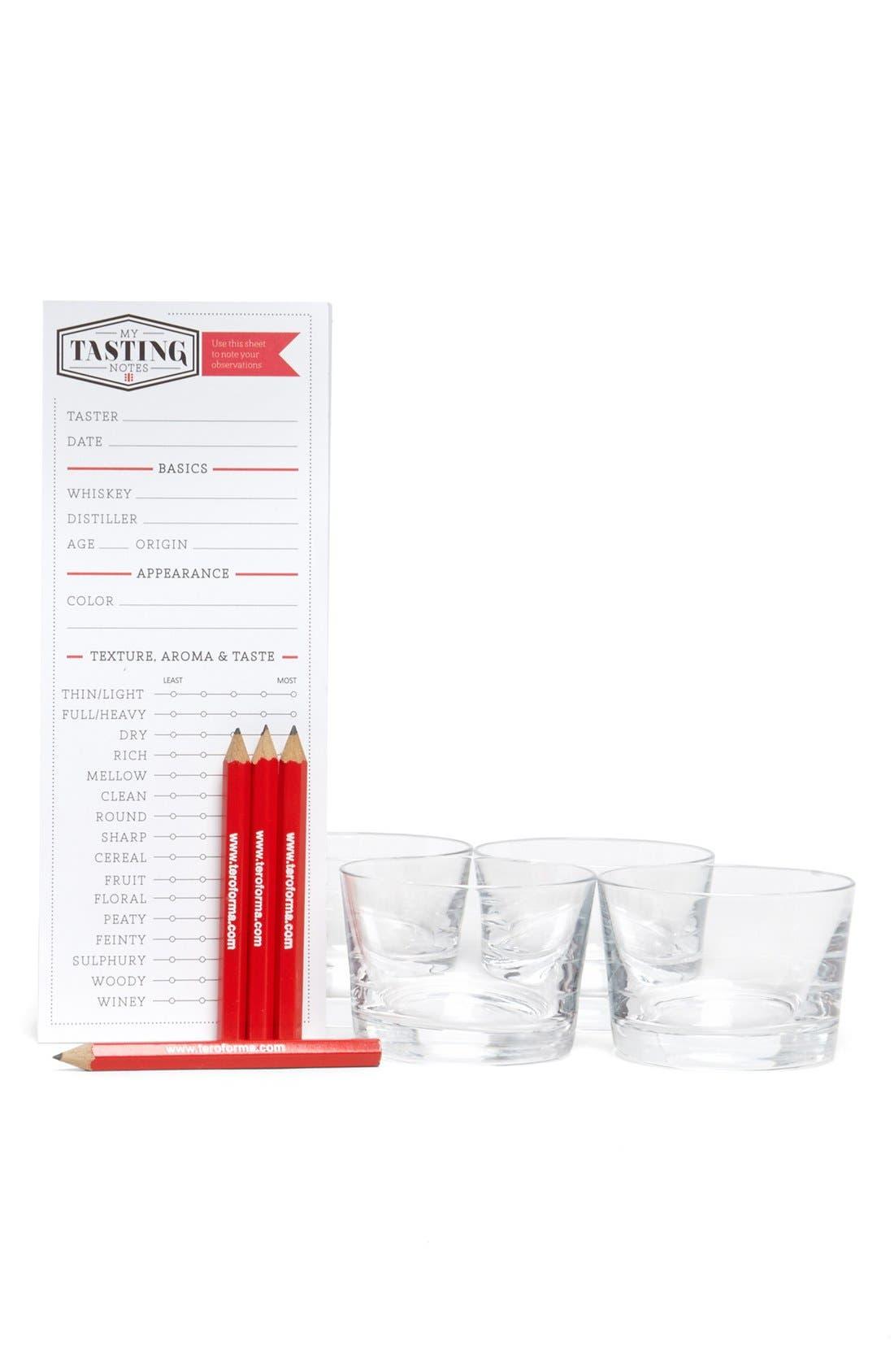 Whiskey Tasting Set,                             Main thumbnail 1, color,                             100