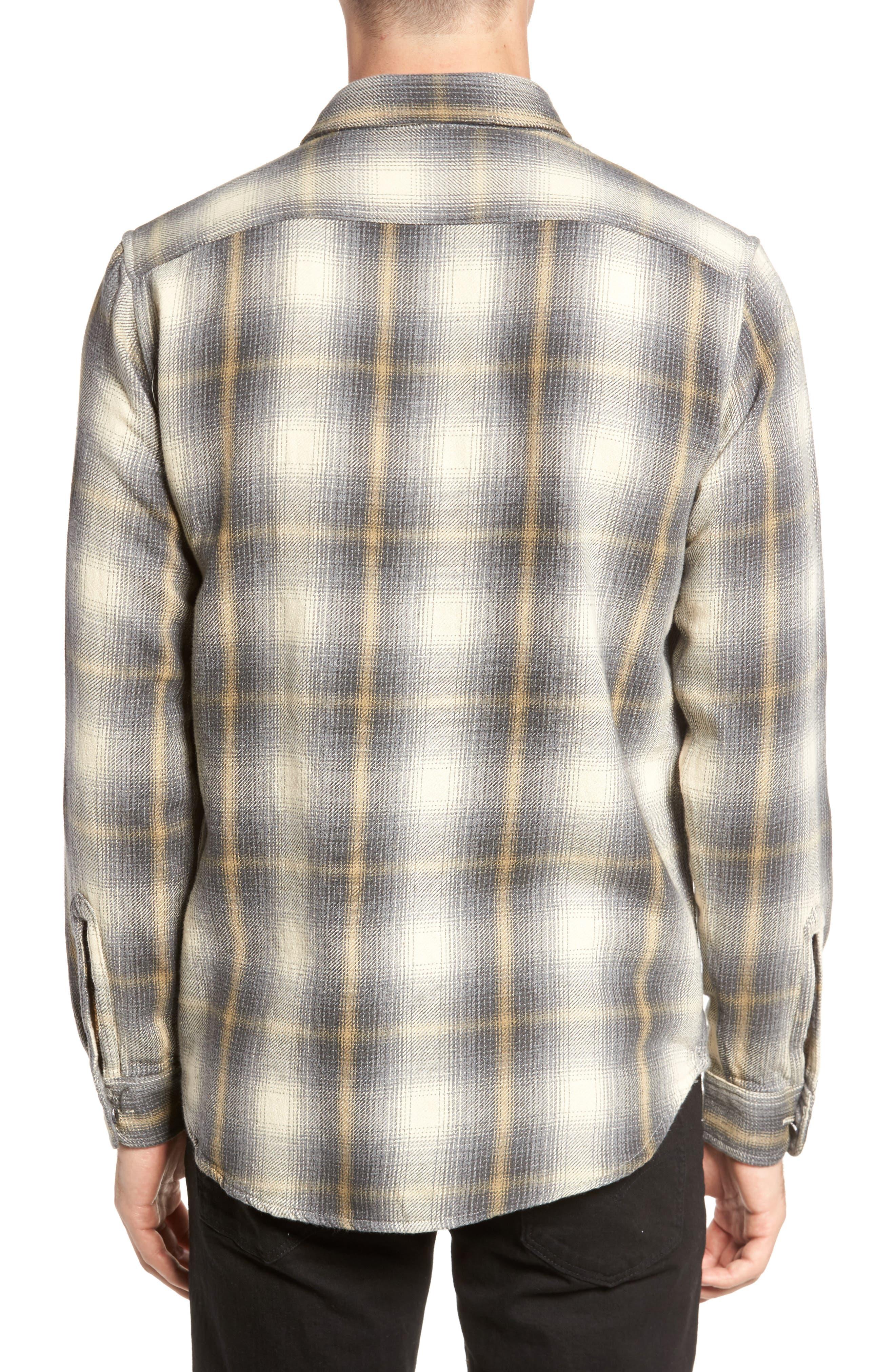 Heavy Twill Reversible Shirt Jacket,                             Alternate thumbnail 3, color,                             101