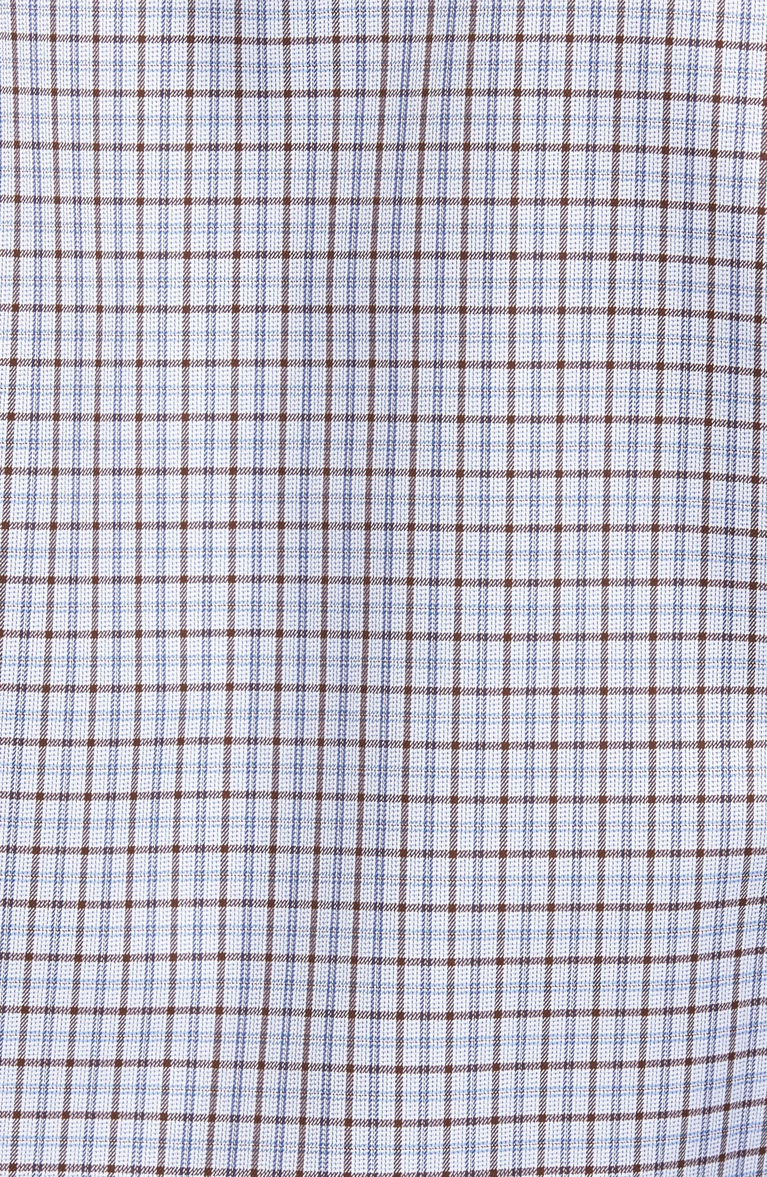 Plaid Regular Fit Sport Shirt,                             Alternate thumbnail 5, color,                             212