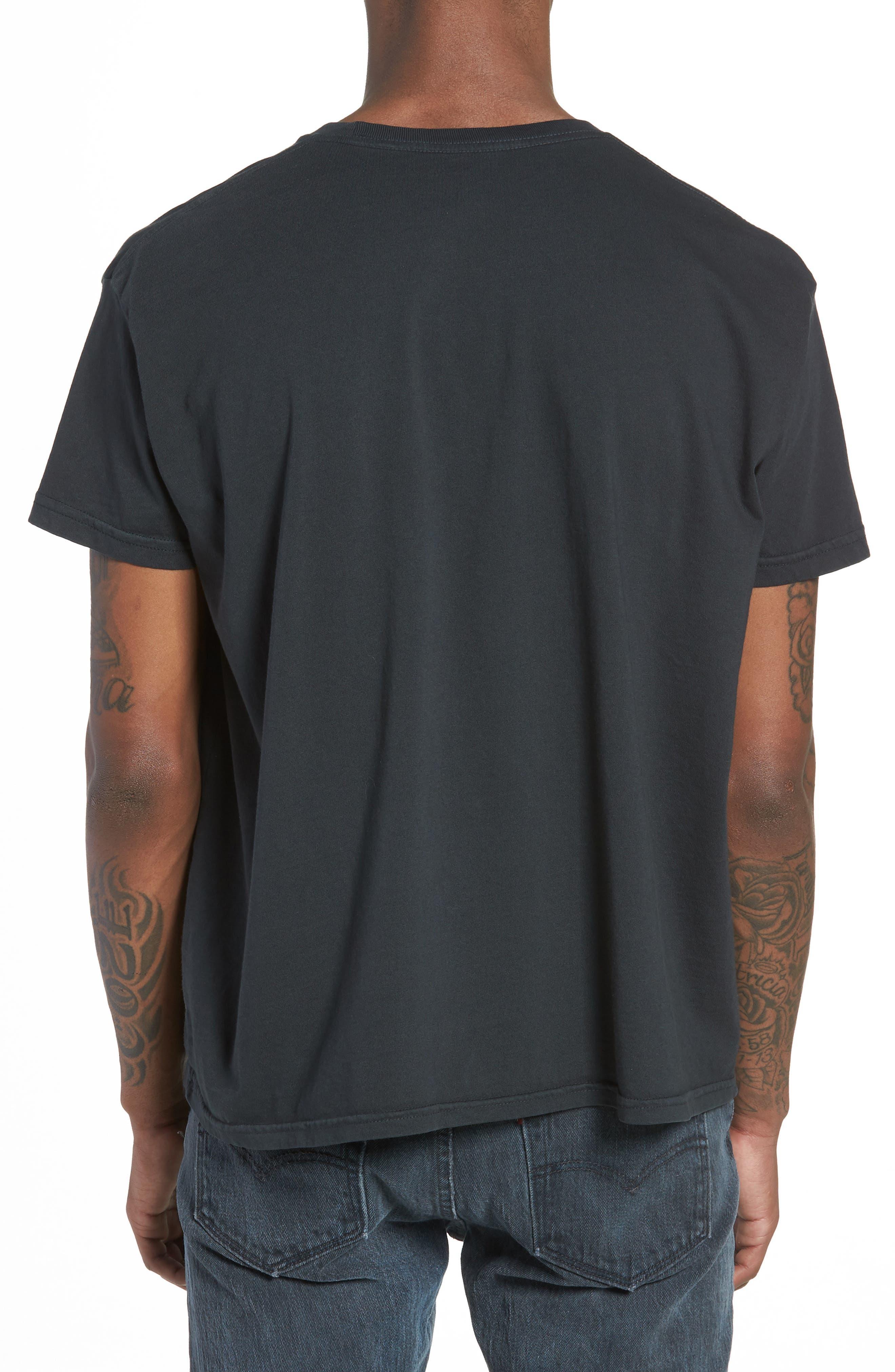 Dylan Desire T-Shirt,                             Alternate thumbnail 2, color,                             DUSTY BLACK