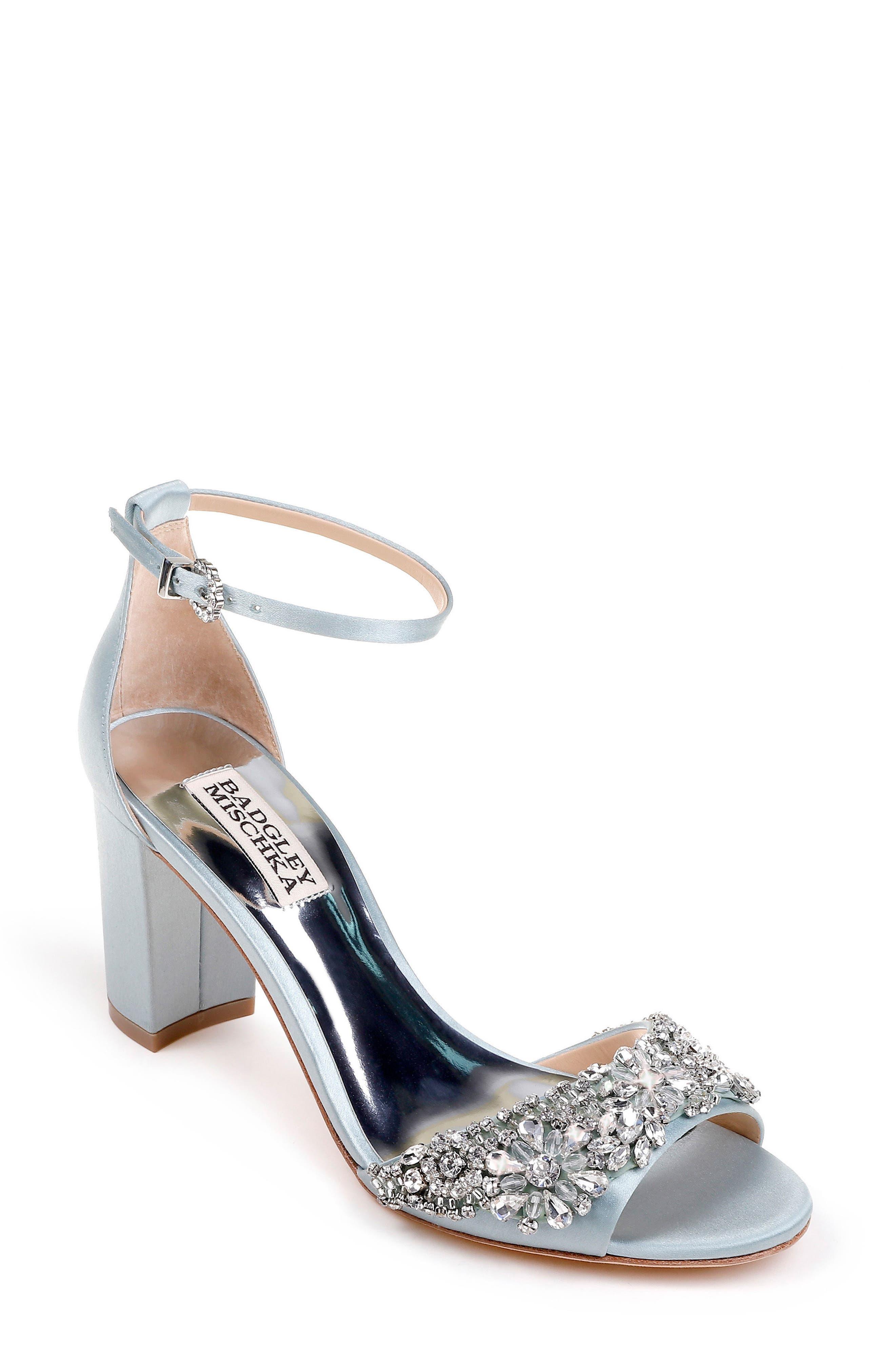 Hines Embellished Block Heel Sandal,                             Main thumbnail 4, color,