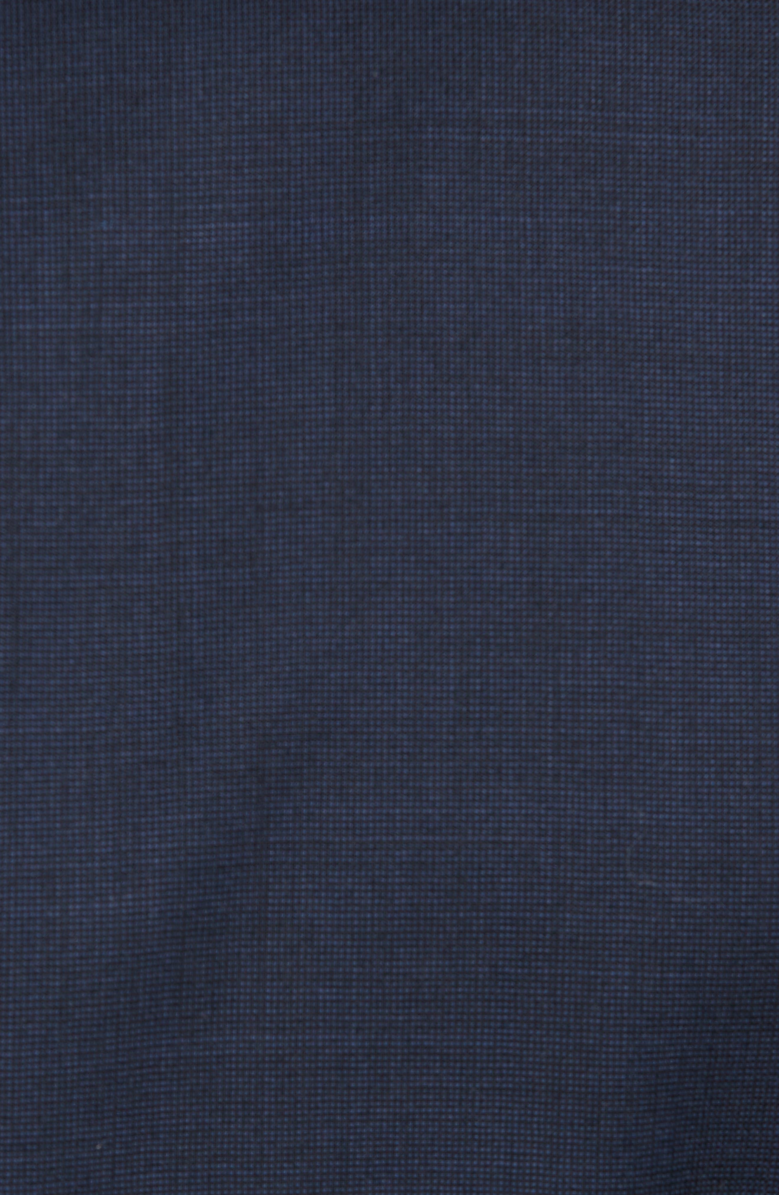 Jay Trim Fit Solid Wool Suit,                             Alternate thumbnail 7, color,