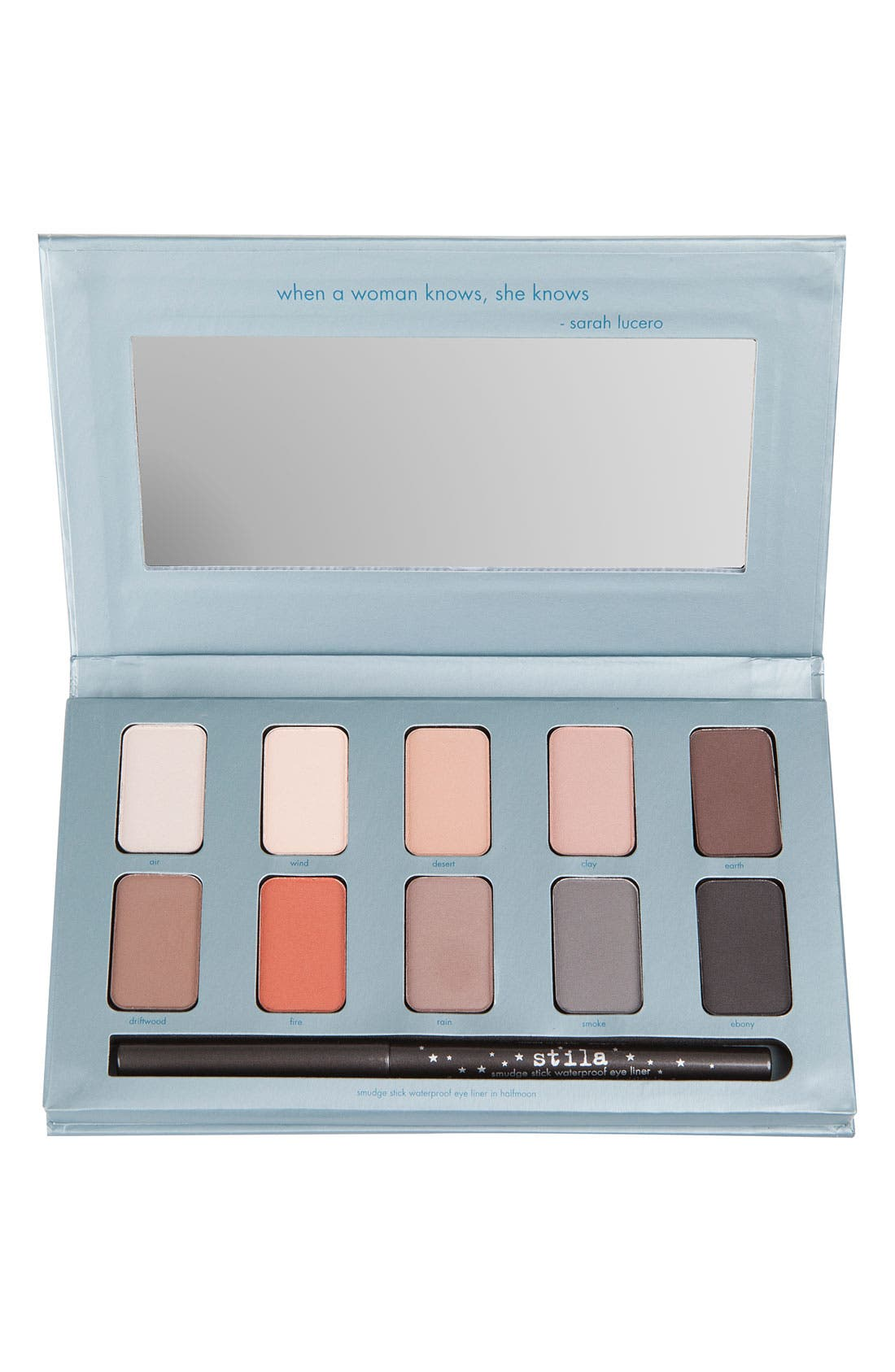 STILA 'in the know' eyeshadow palette, Main, color, 300