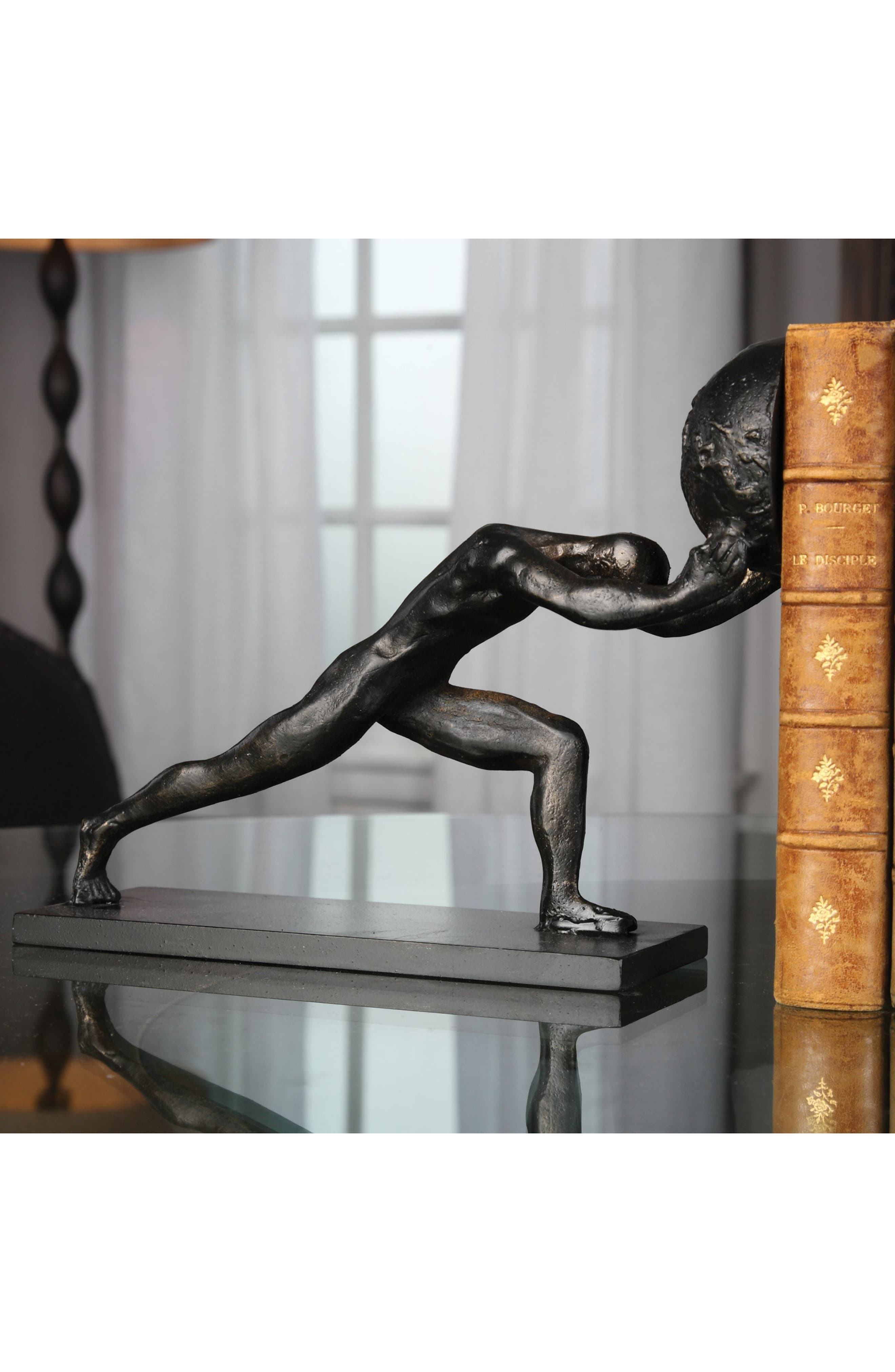 Weight of the World Set of 2 Bookends,                             Alternate thumbnail 2, color,                             200