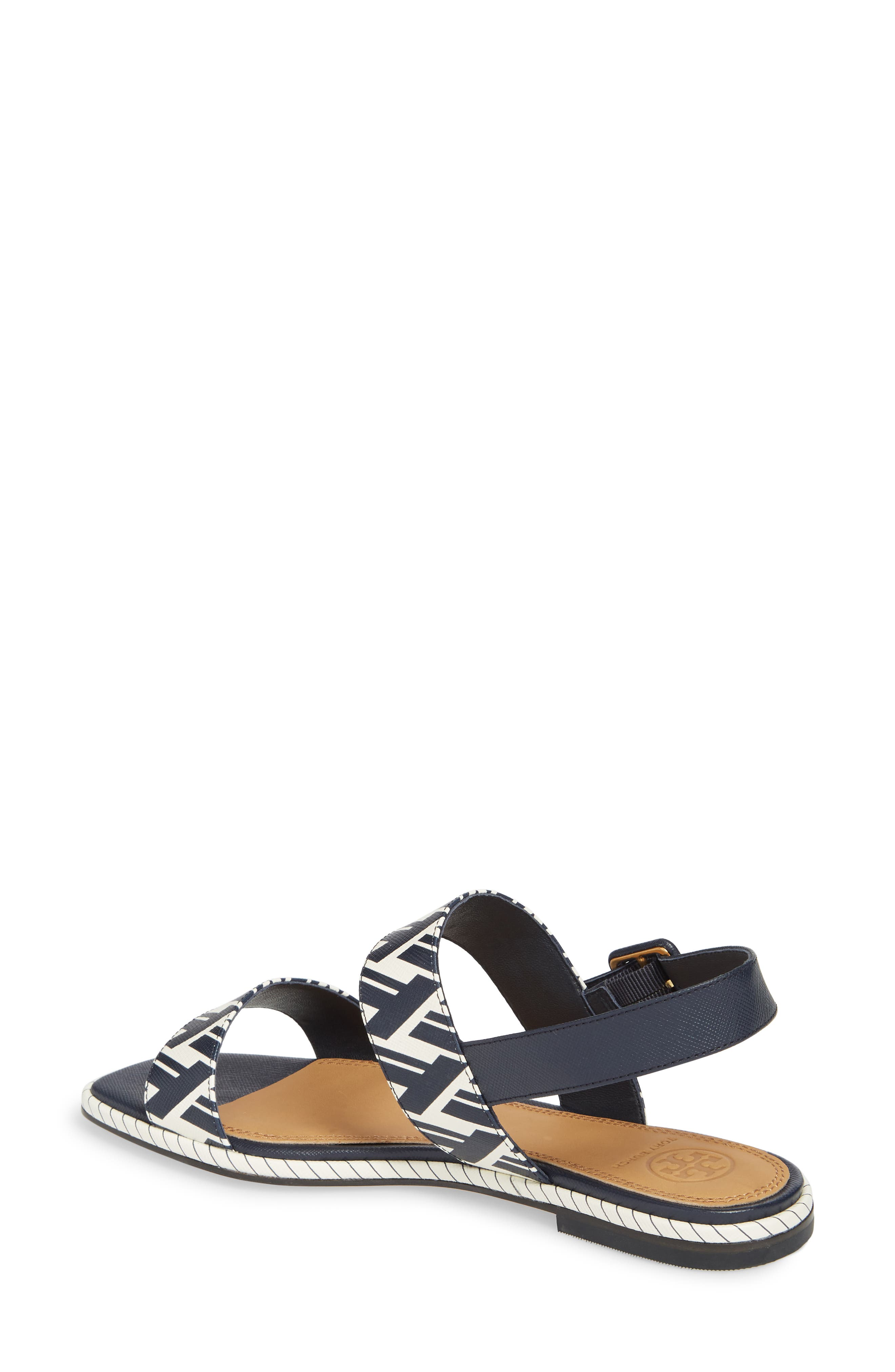 Delaney Double Strap Sandal,                             Alternate thumbnail 9, color,