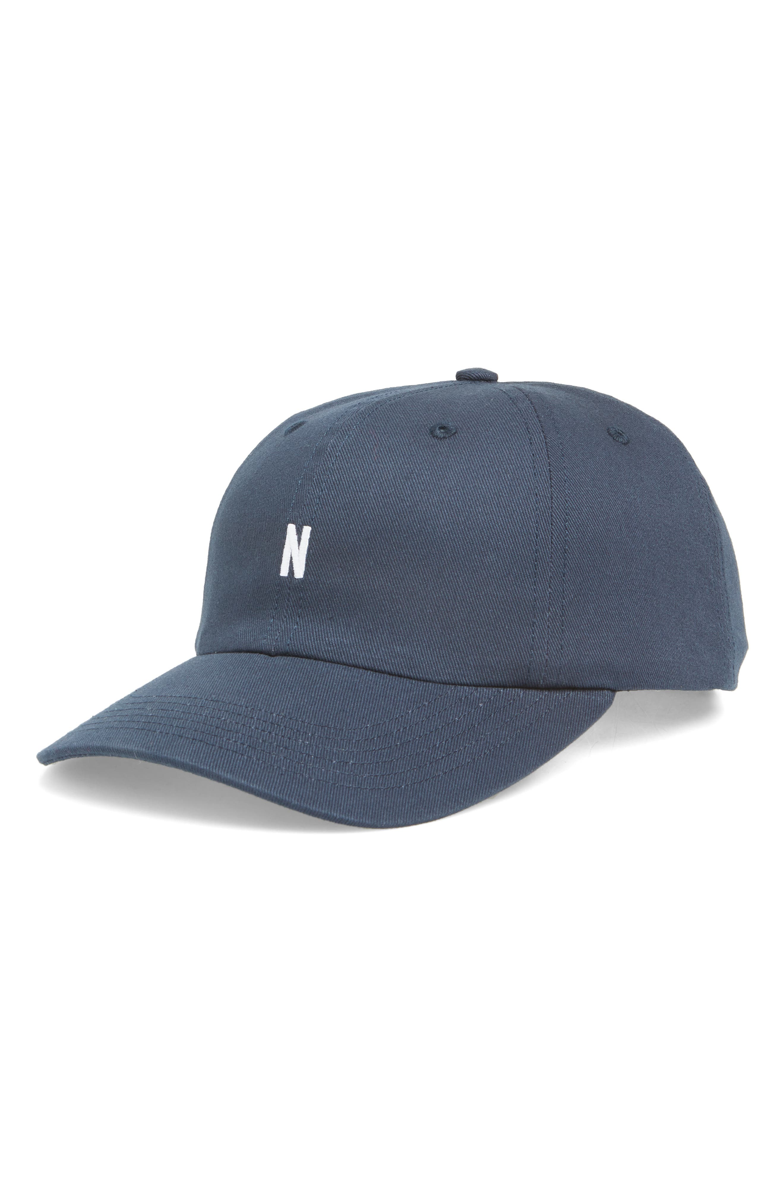 NORSE PROJECTS Twill Ball Cap - Blue in Dark Navy