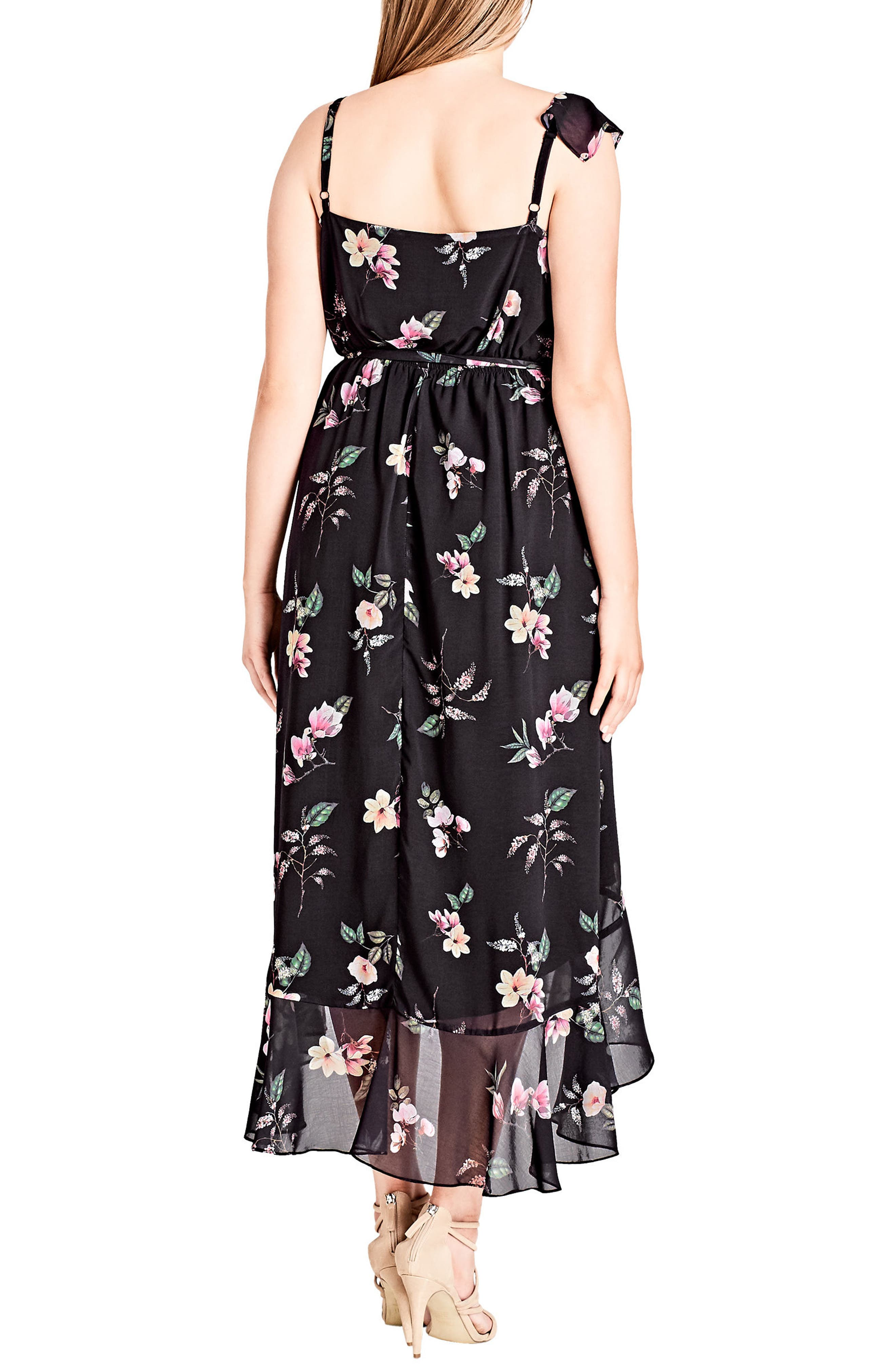 Captivate Floral Dress,                             Alternate thumbnail 2, color,                             001