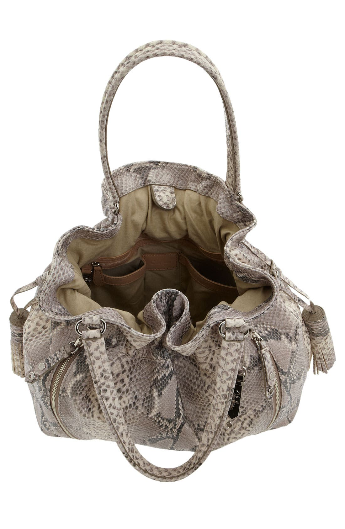 'Bailey' Pebbled Leather Drawstring Tote,                             Alternate thumbnail 20, color,