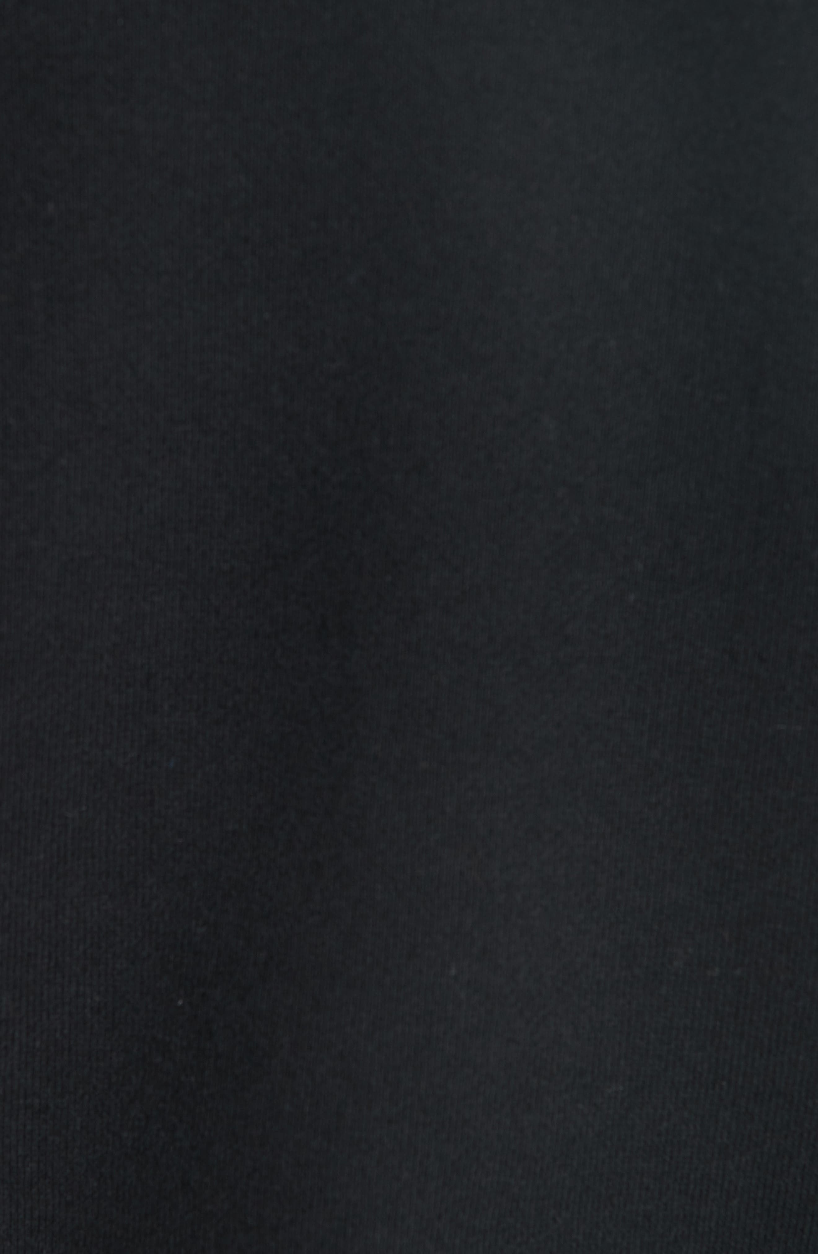 Established Embroidered Sweatshirt,                             Alternate thumbnail 5, color,                             BLACK
