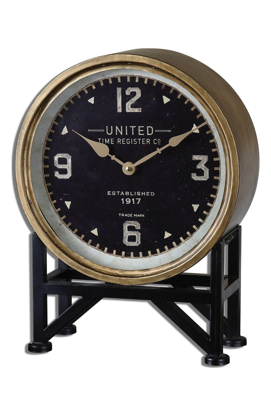 'Shyam' Table Clock,                             Main thumbnail 2, color,