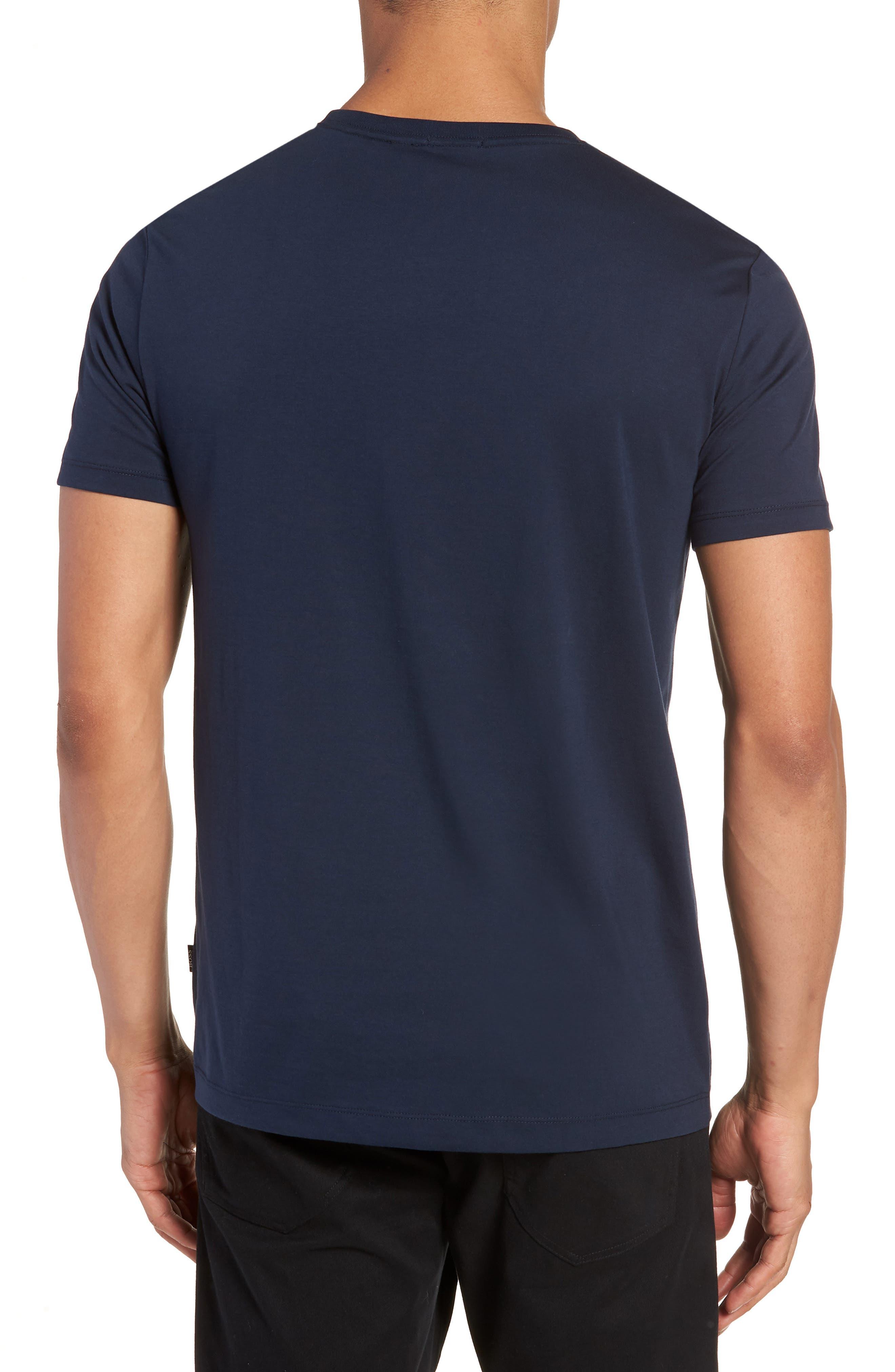 Tiburt Regular Fit Crewneck T-Shirt,                             Alternate thumbnail 6, color,