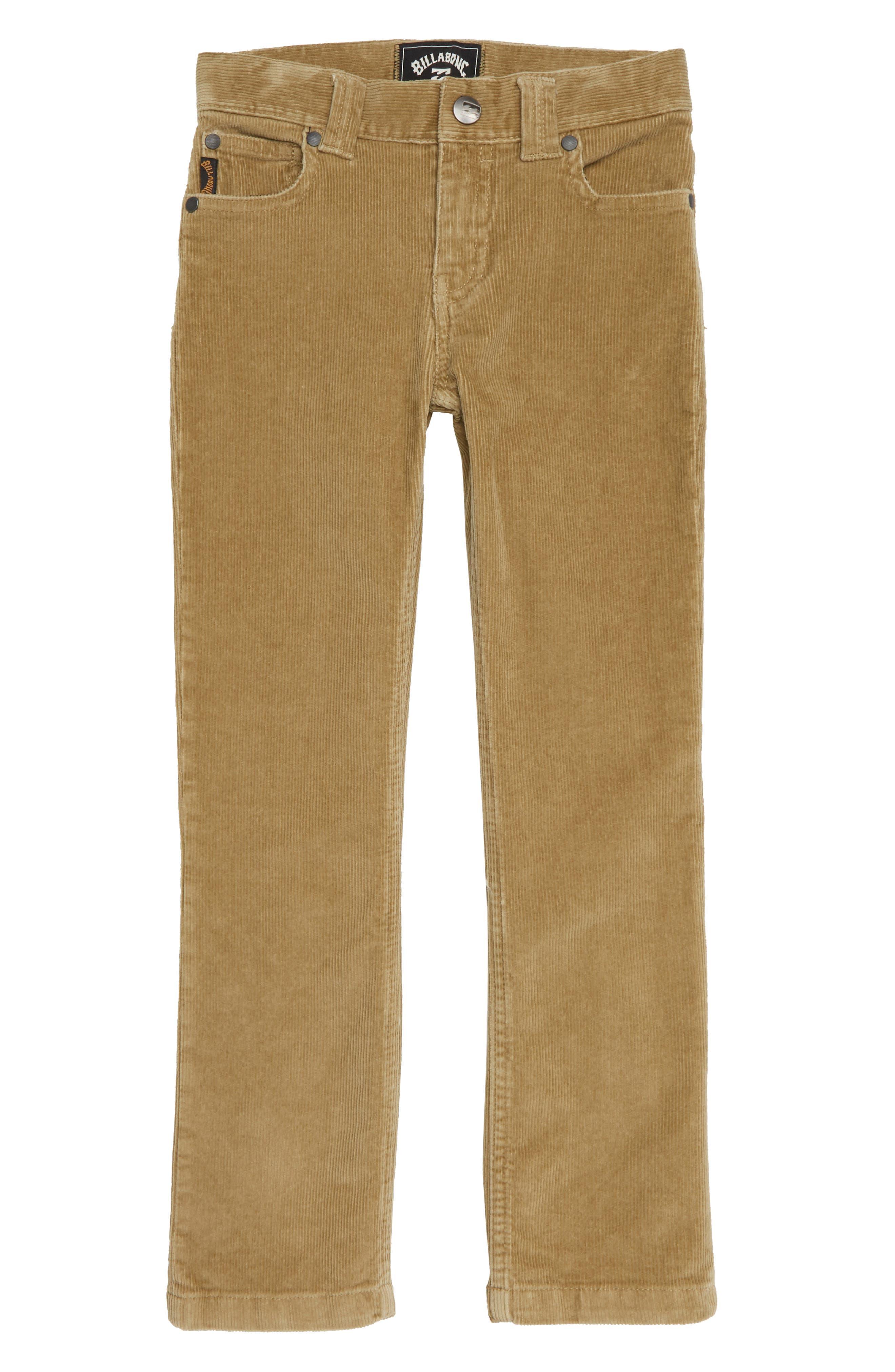 Outsider Corduroy Pants,                         Main,                         color, GRAVEL