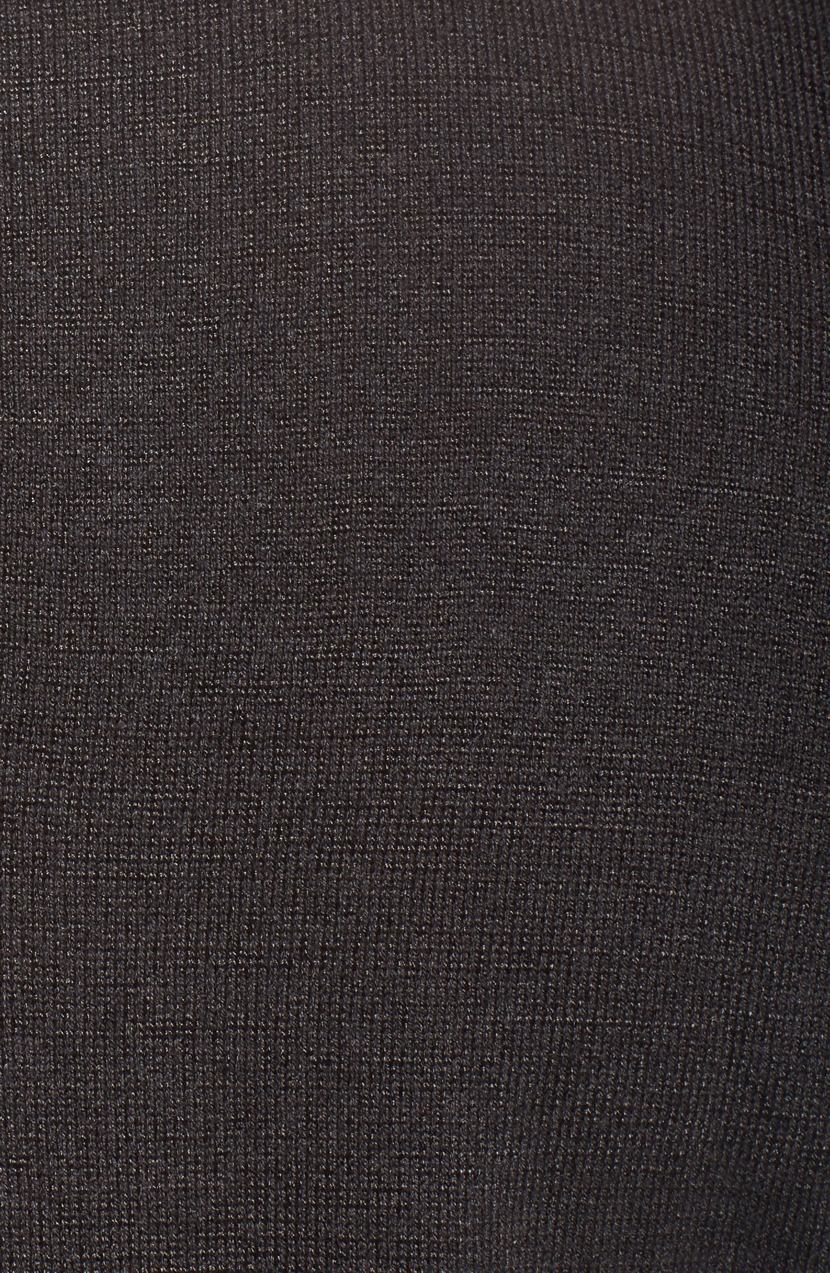 Jeweled Neck Cold Shoulder Sweater,                             Alternate thumbnail 5, color,