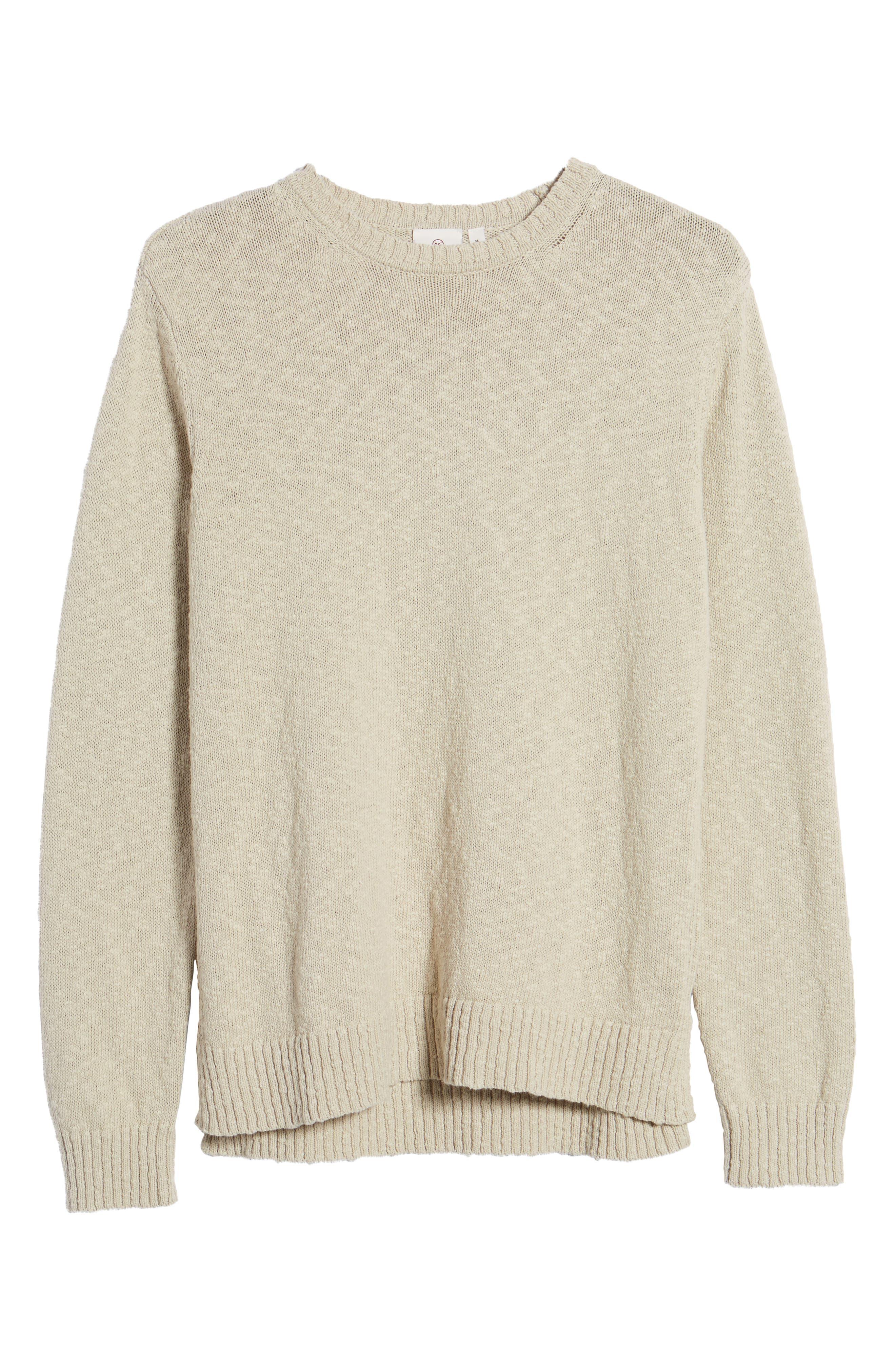Deklyn Slim Fit Crew Sweater,                             Alternate thumbnail 6, color,                             250
