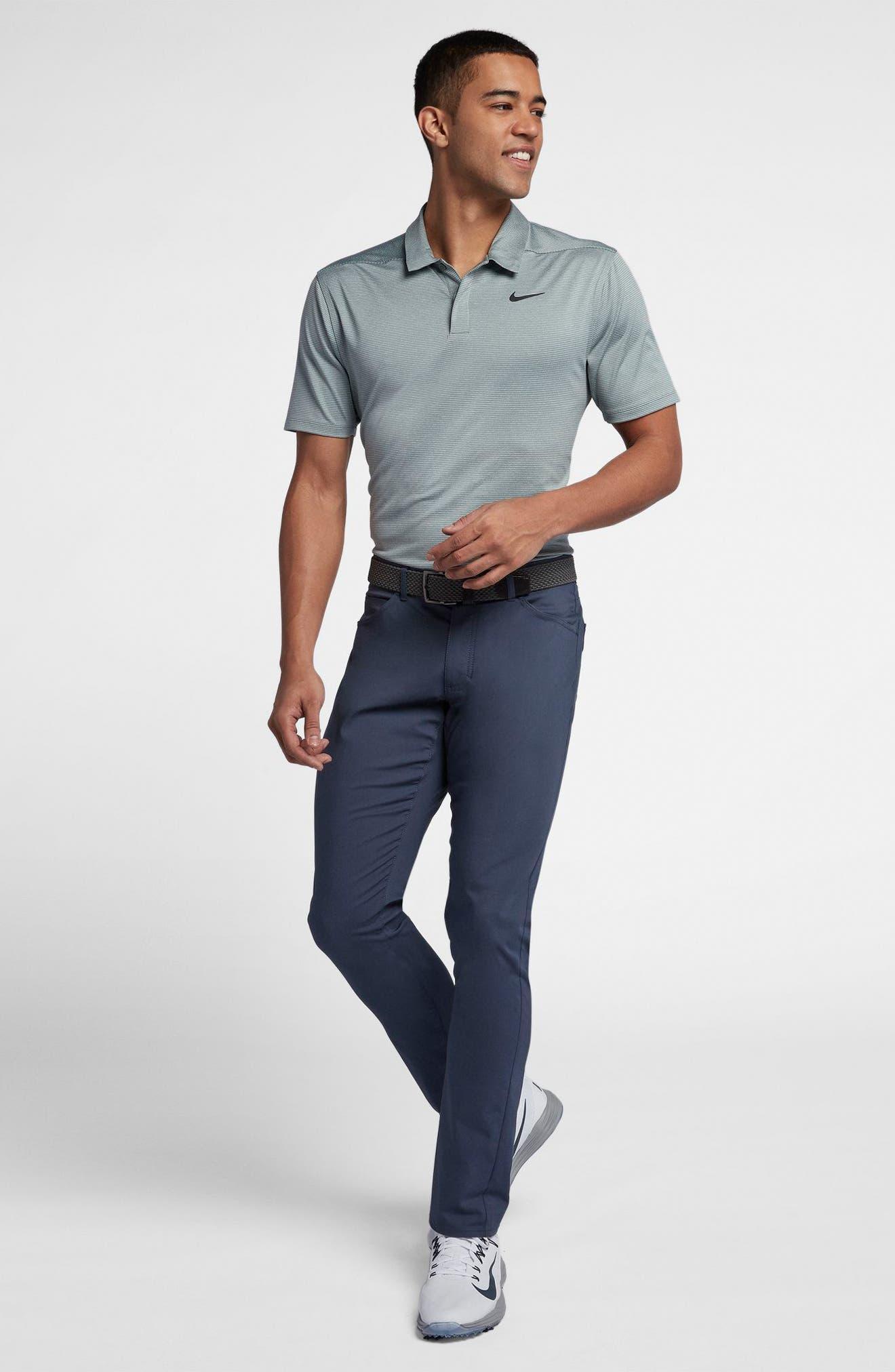 Dry Polo Shirt,                             Alternate thumbnail 8, color,                             CLAY GREEN/ BLACK